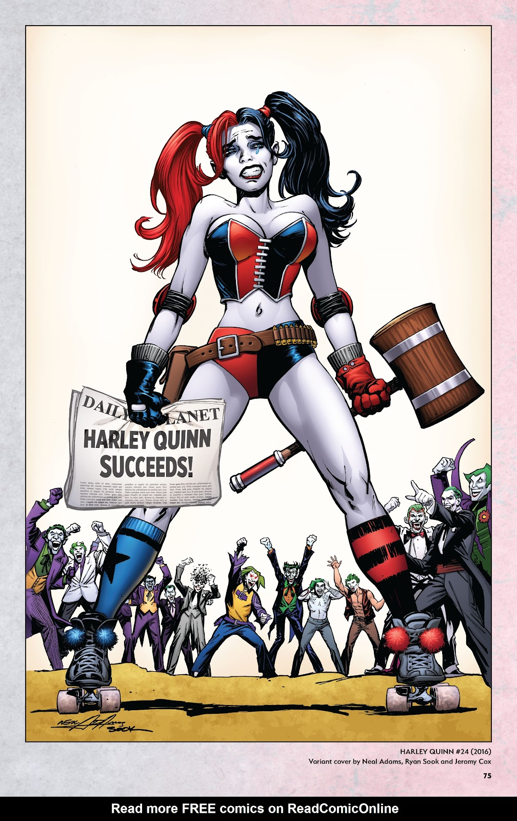 Read online Harley Quinn: A Rogue's Gallery―The Deluxe Cover Art Collection comic -  Issue # TPB (Part 1) - 72