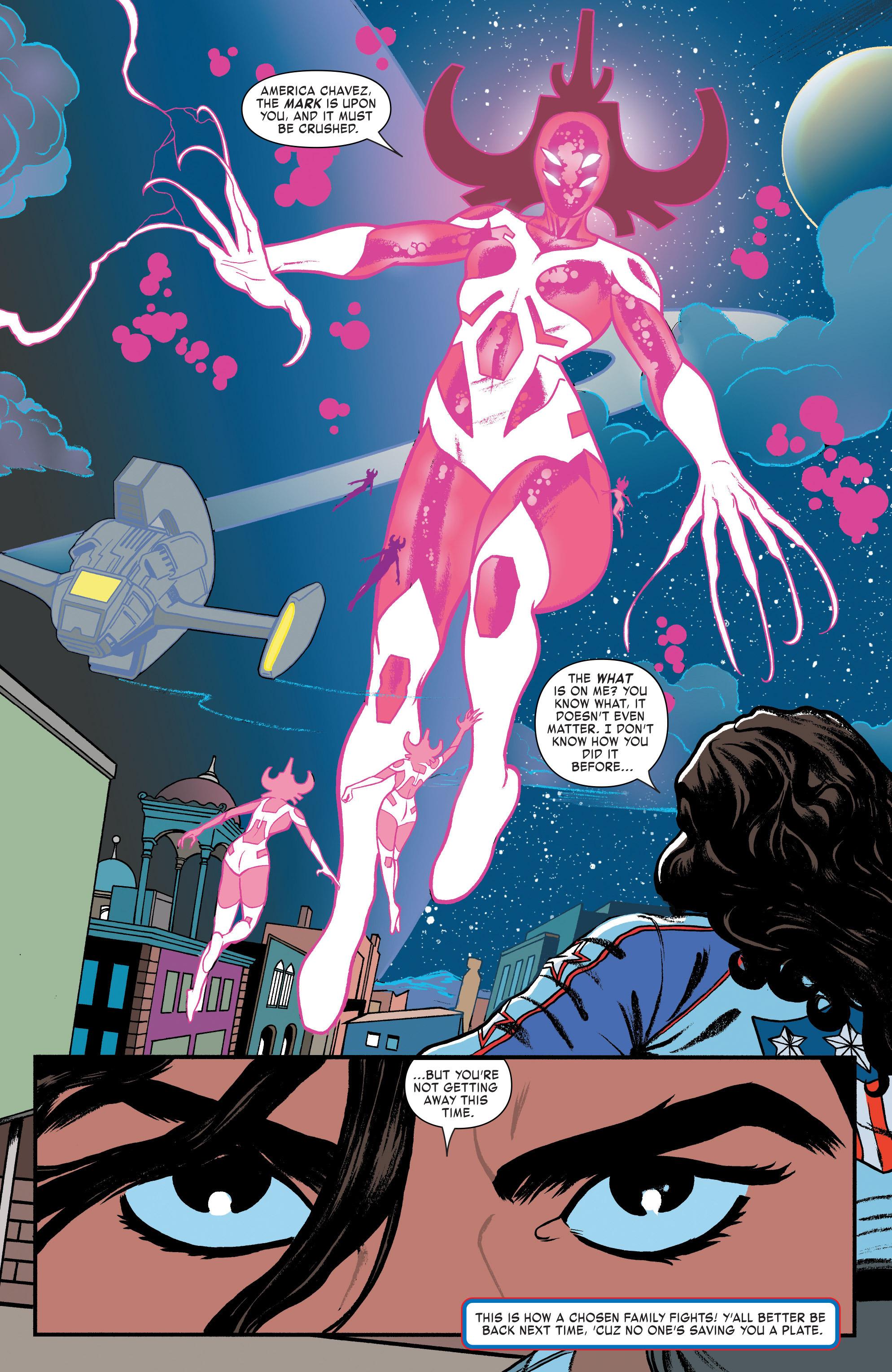 Read online America (2016) comic -  Issue #3 - 20