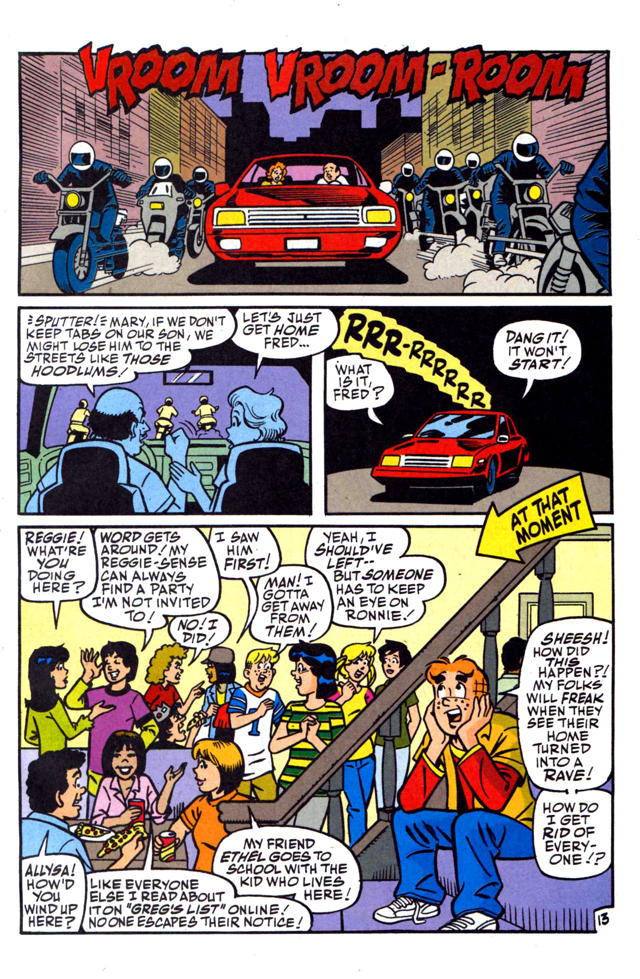 Read online Archie (1960) comic -  Issue #590 - 21