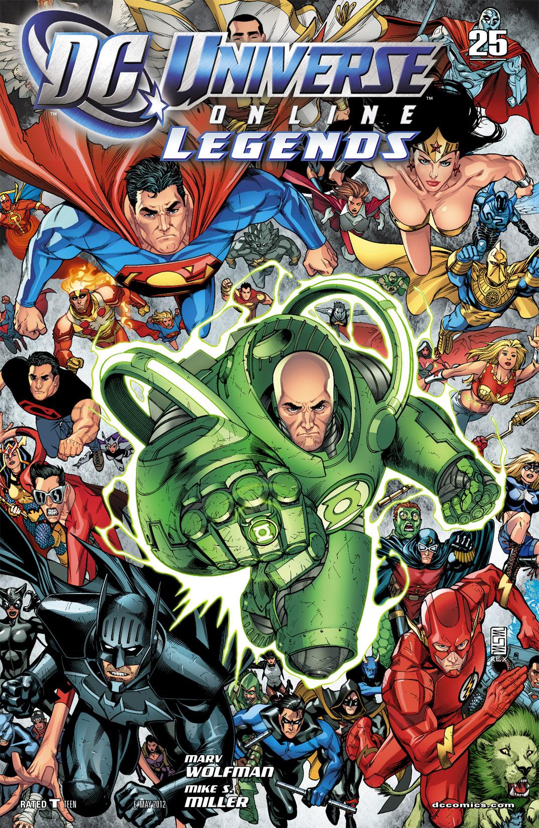 DC Universe Online: Legends 25 Page 1