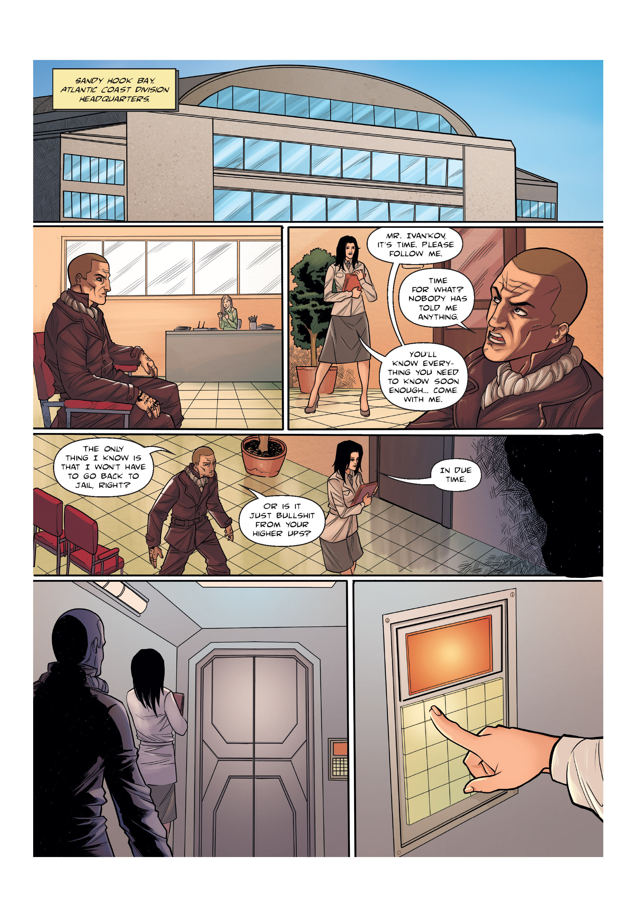 Read online The Shadow of a Terrible Thing comic -  Issue # TPB - 14