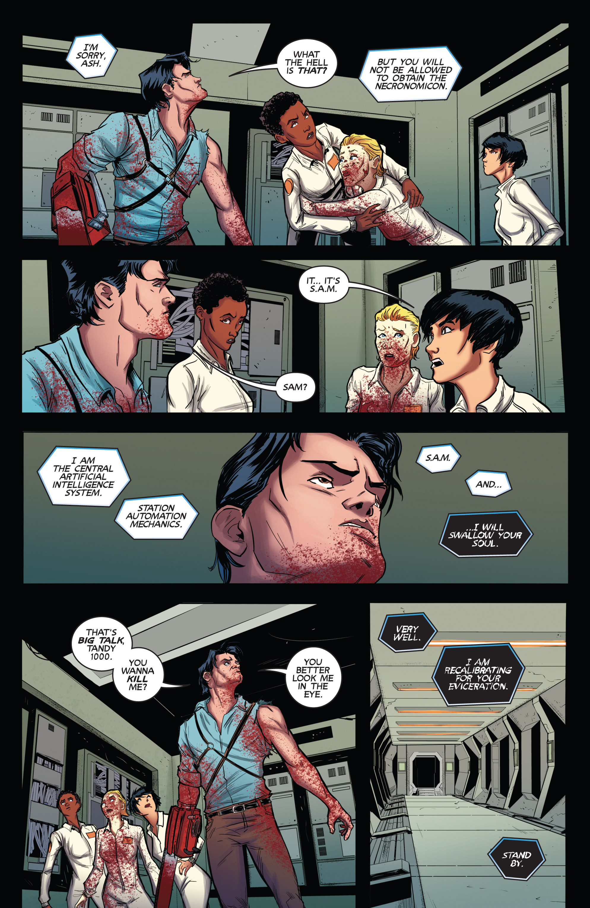 Read online Army of Darkness (2014) comic -  Issue #2 - 22