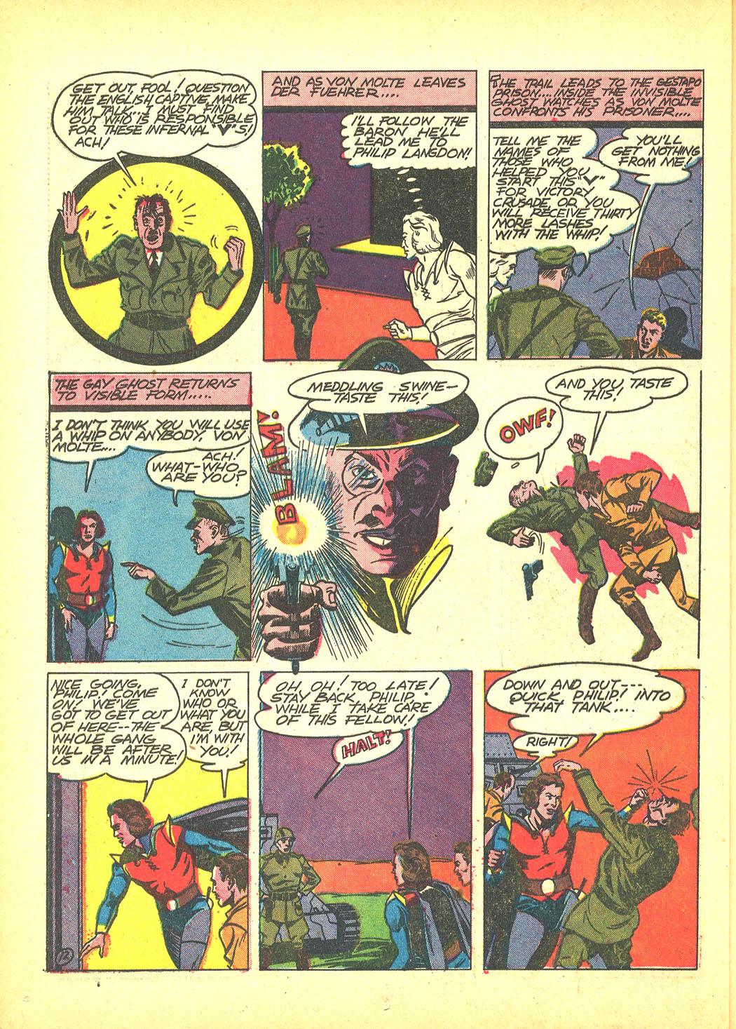 Read online Sensation (Mystery) Comics comic -  Issue #4 - 44