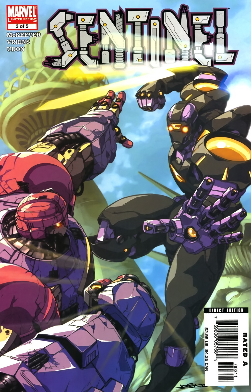 Read online Sentinel (2006) comic -  Issue #3 - 1