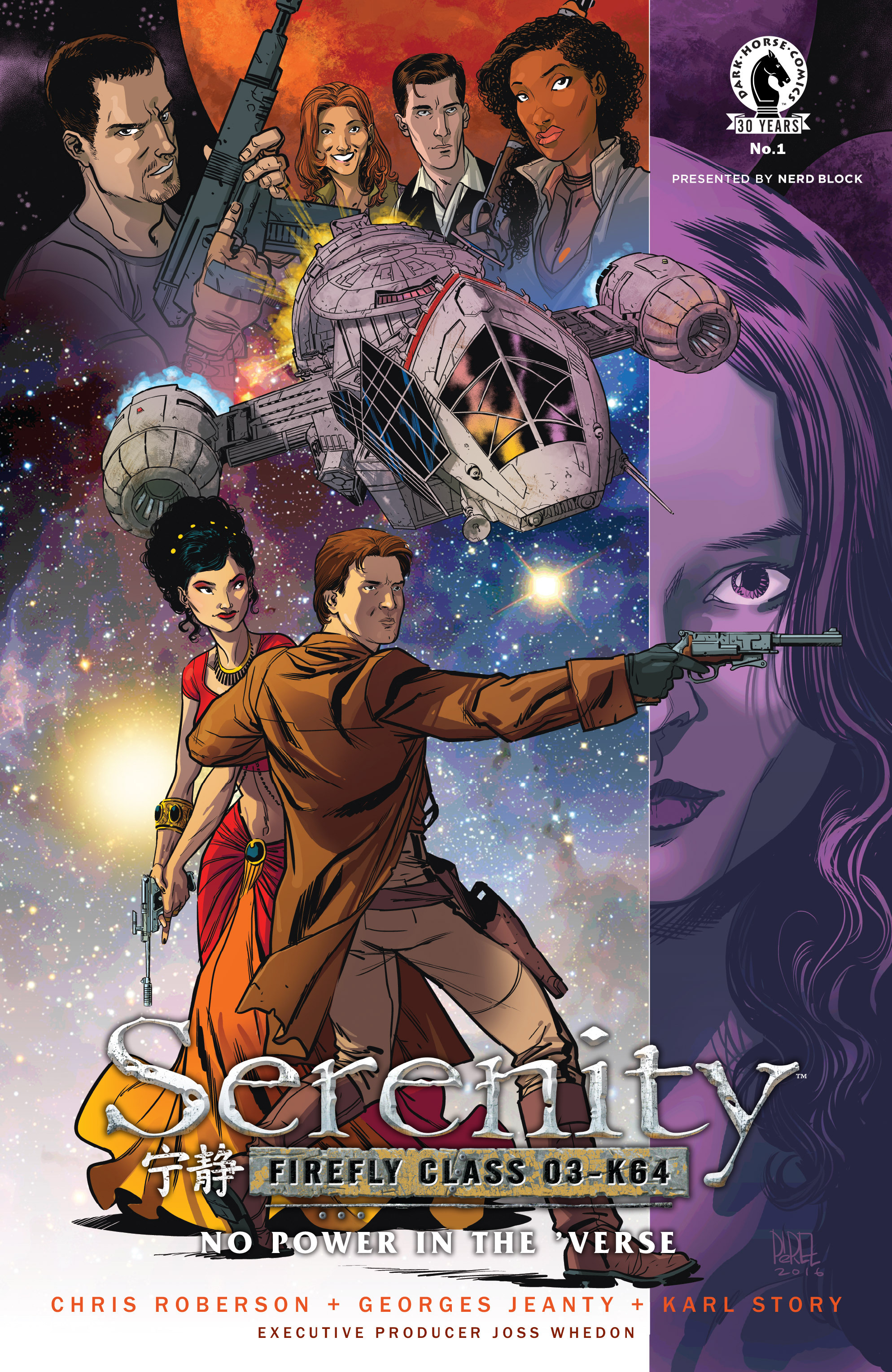 Read online Serenity: Firefly Class 03-K64 – No Power in the 'Verse comic -  Issue #1 - 3