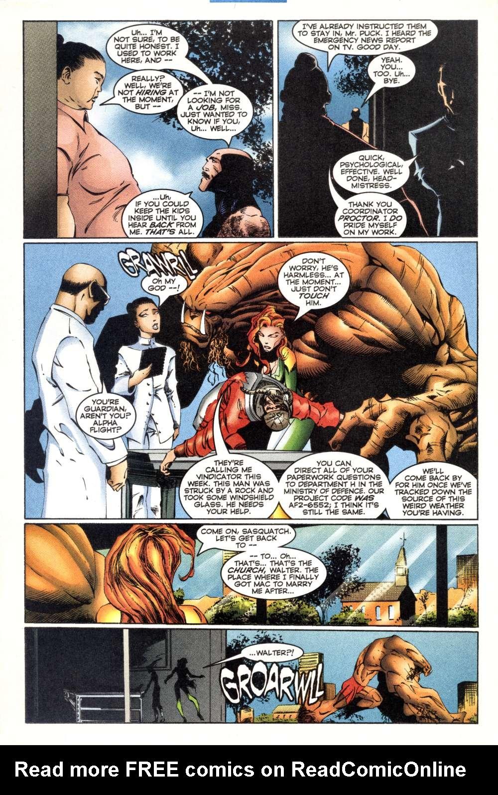 Read online Alpha Flight (1997) comic -  Issue #3 - 14