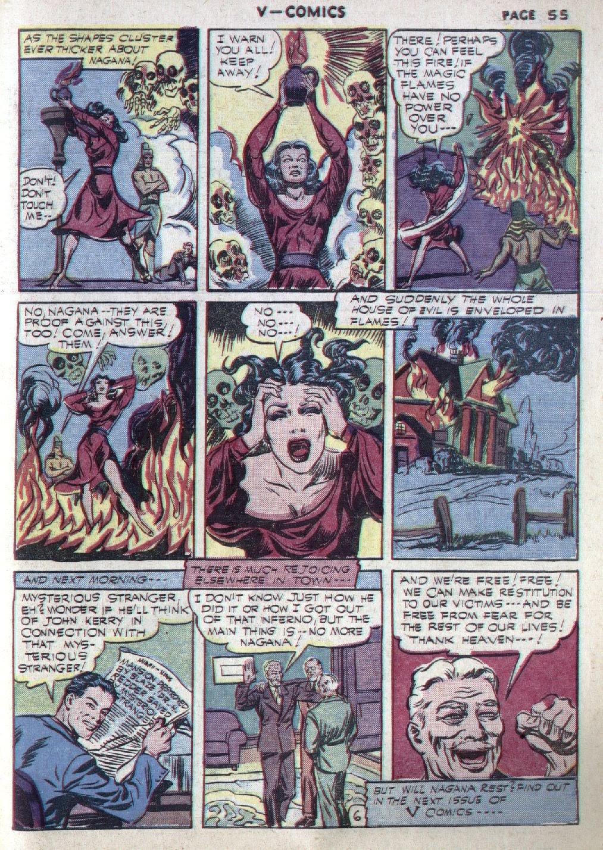 Read online V...- Comics comic -  Issue #1 - 56