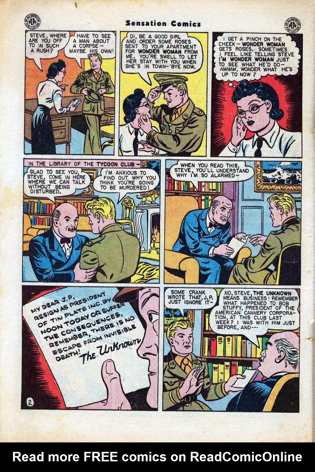 Read online Sensation (Mystery) Comics comic -  Issue #47 - 4