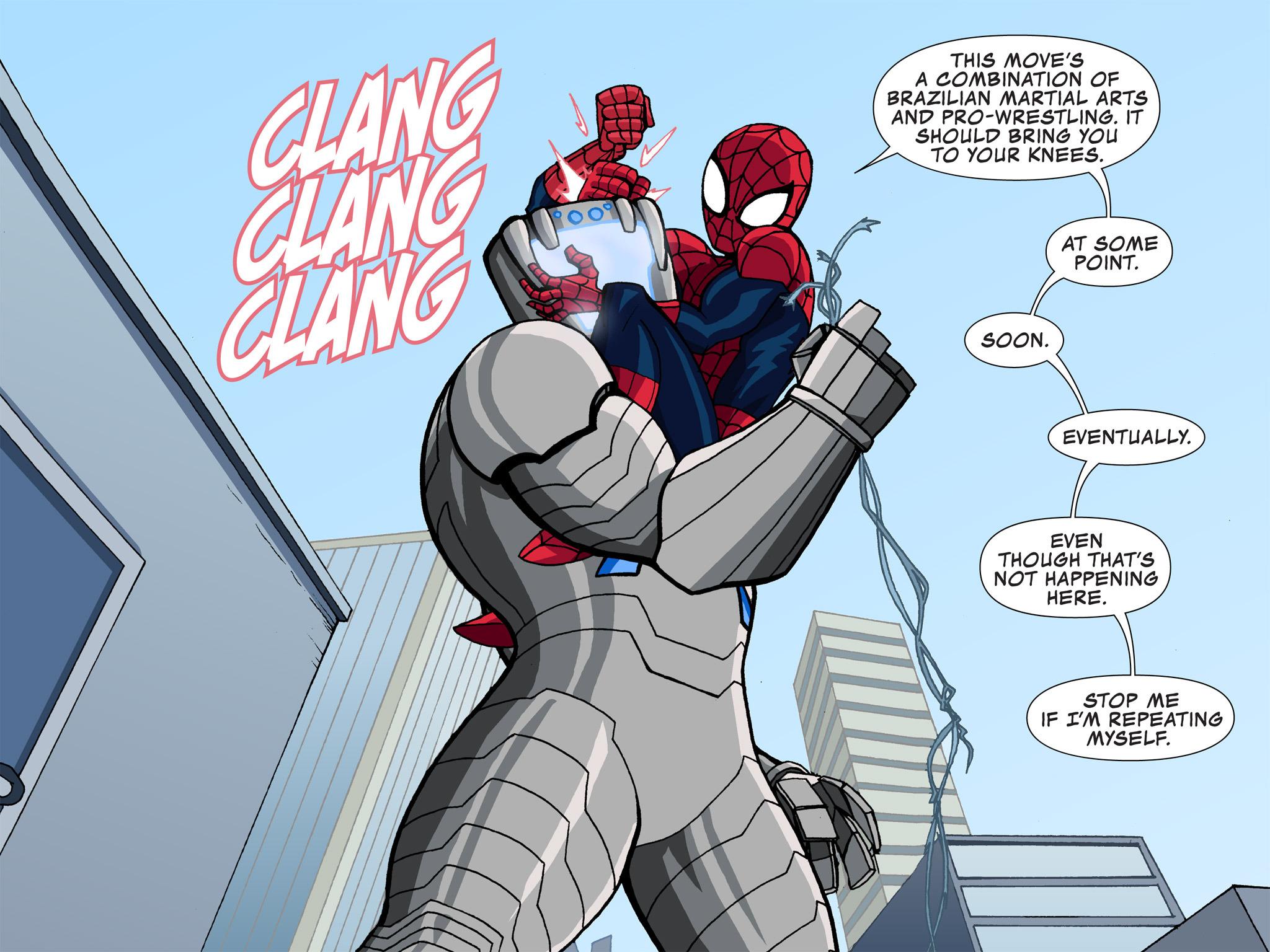 Read online Ultimate Spider-Man (Infinite Comics) (2015) comic -  Issue #3 - 12