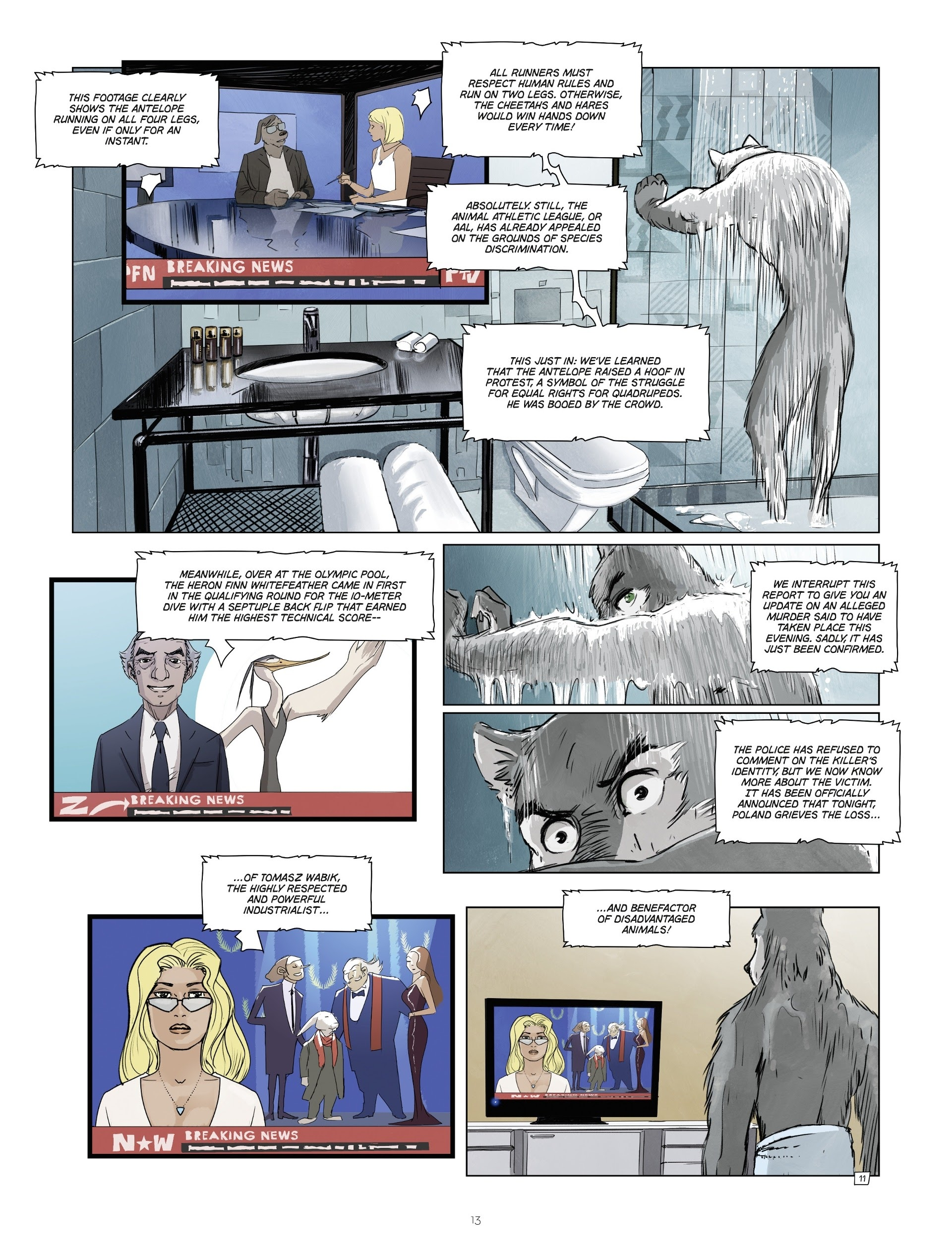 Read online Jack Wolfgang comic -  Issue #3 - 15