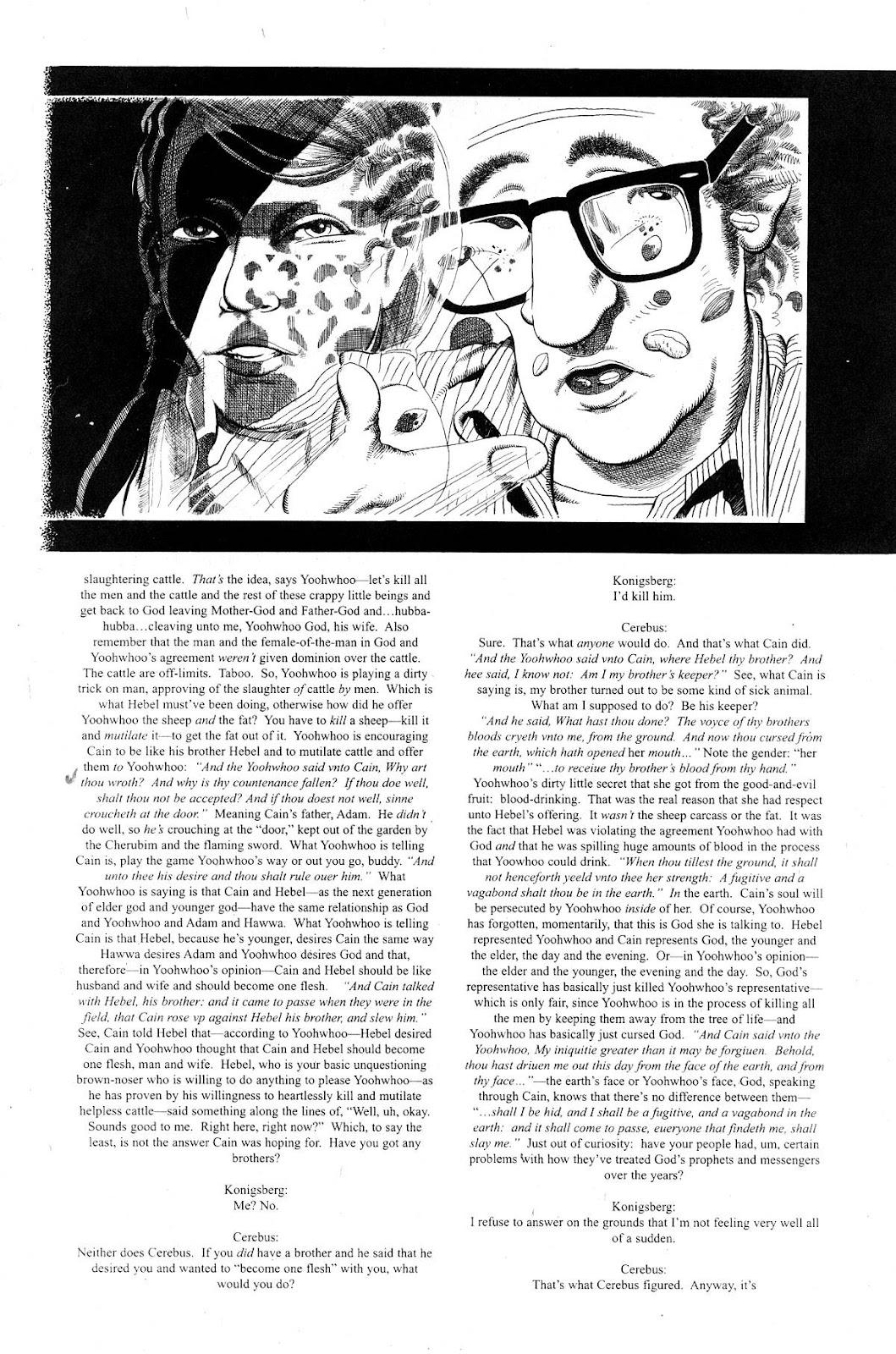 Cerebus Issue #281 #280 - English 14