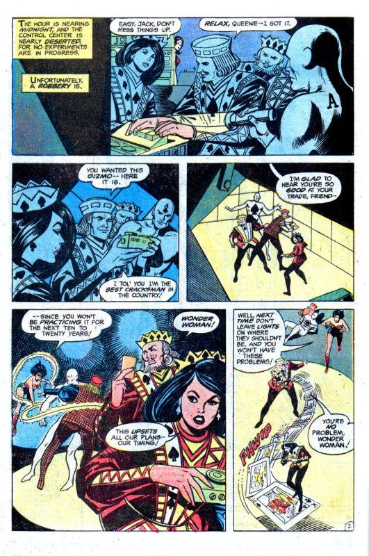 Read online Wonder Woman (1942) comic -  Issue #256 - 4
