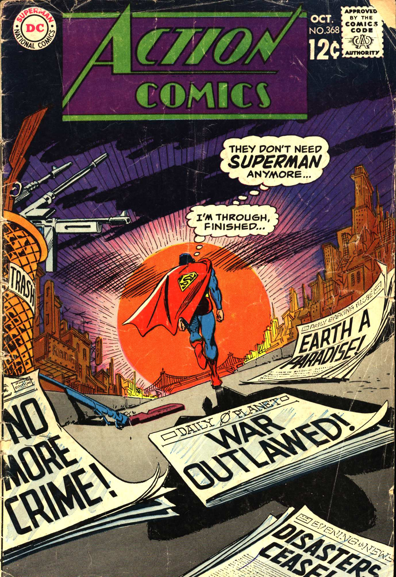 Read online Action Comics (1938) comic -  Issue #368 - 1