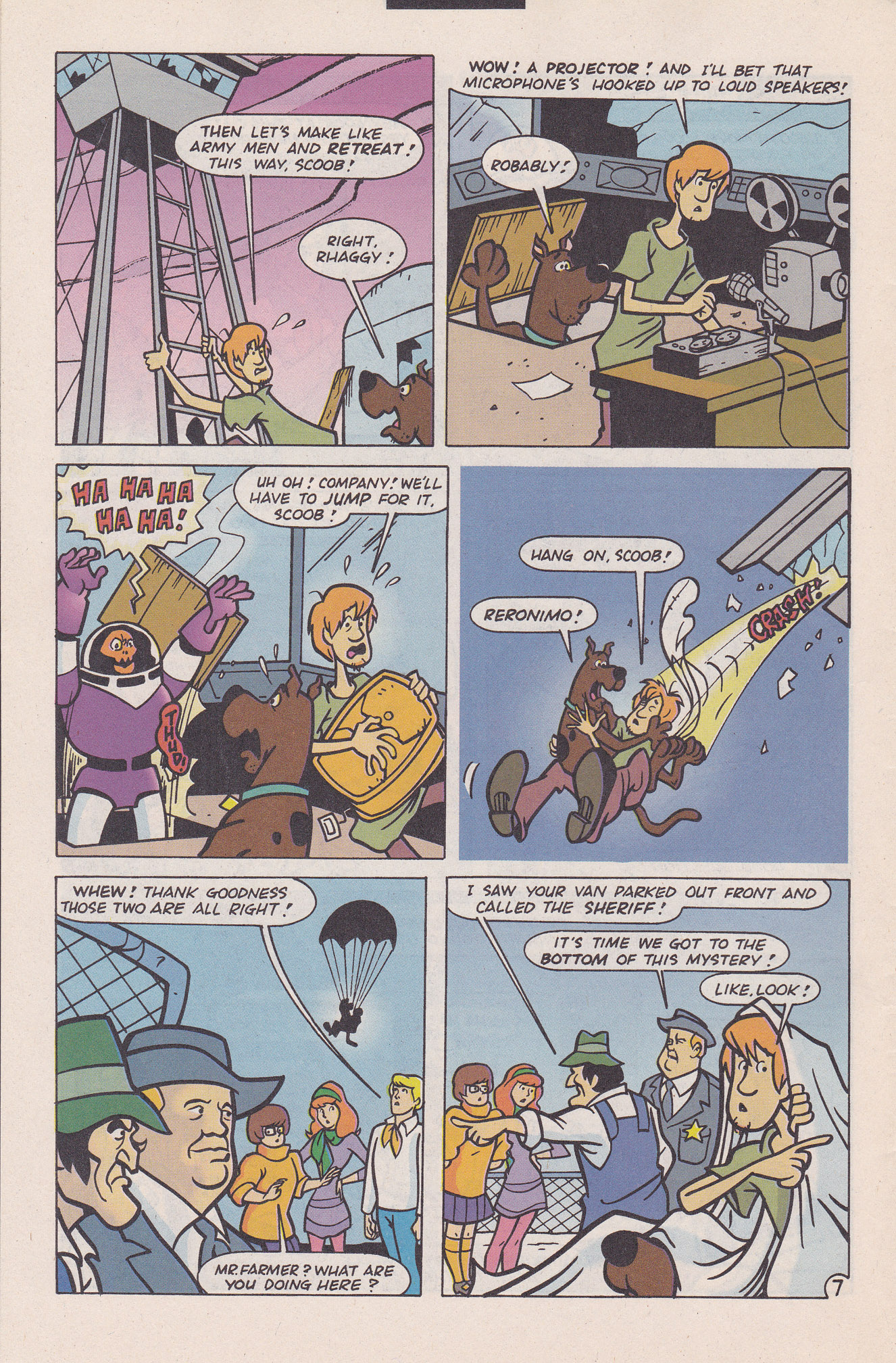 Read online Scooby-Doo (1995) comic -  Issue #20 - 32