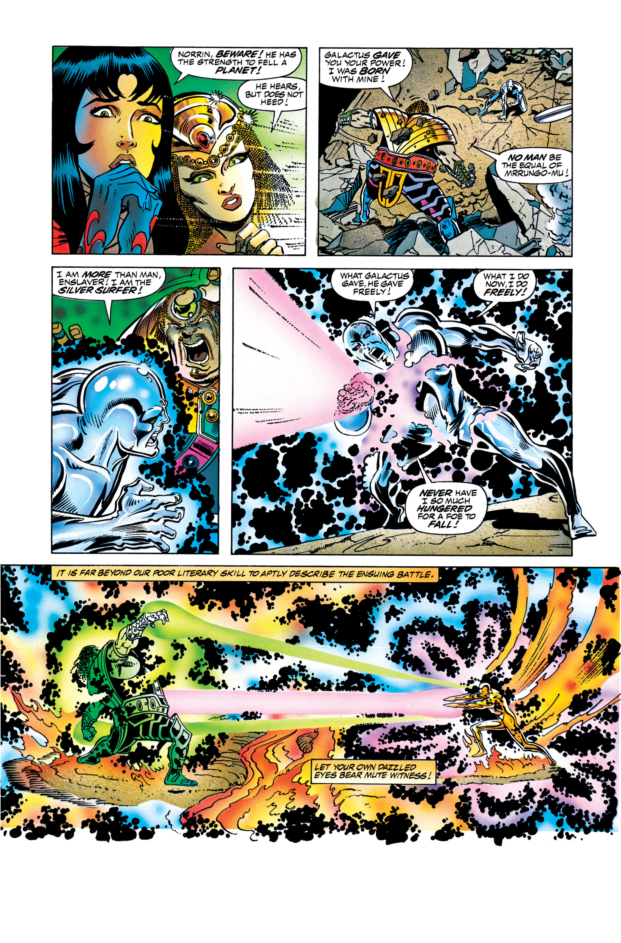 Read online Silver Surfer: Parable comic -  Issue # TPB - 125