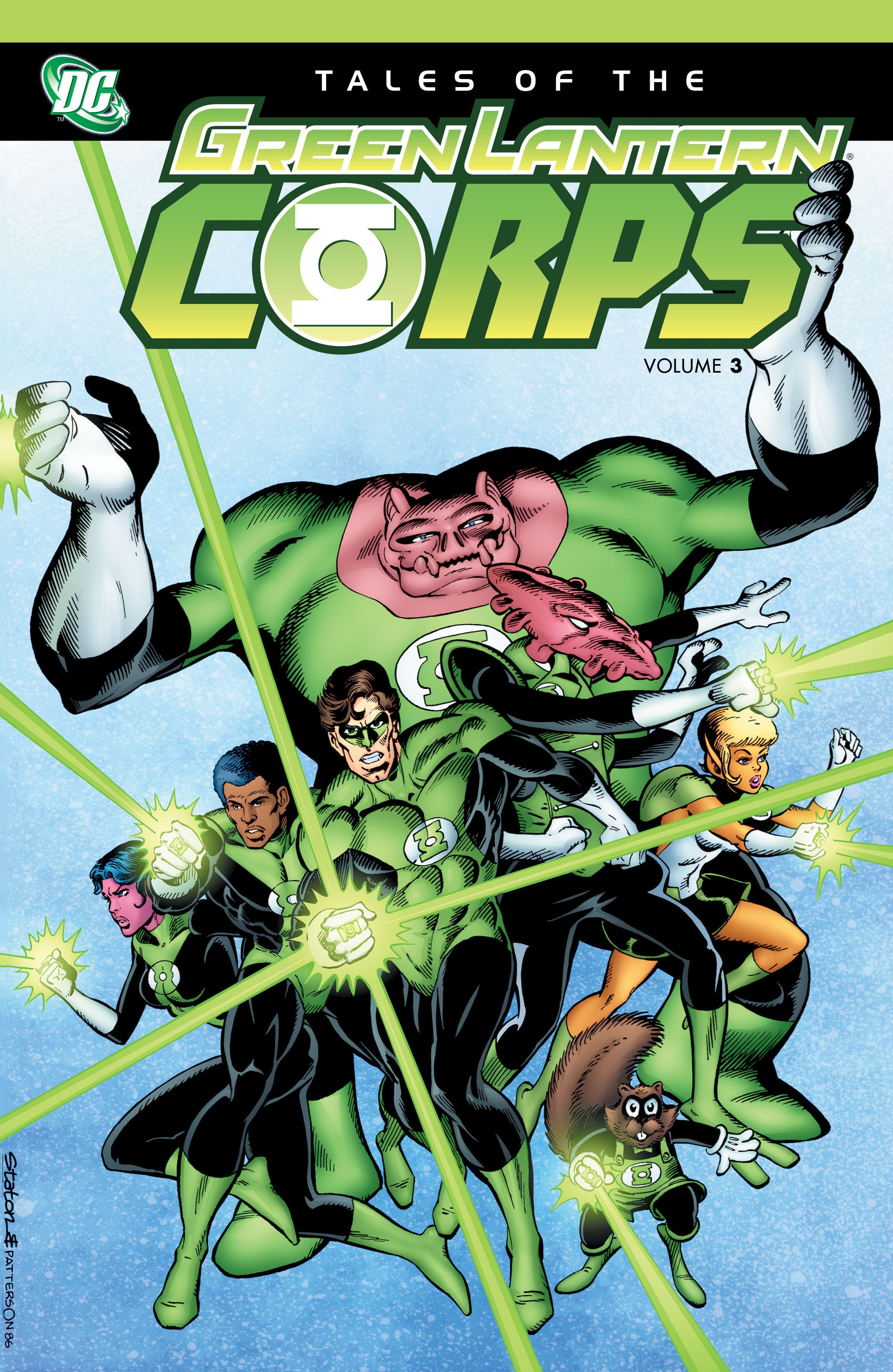 Tales of the Green Lantern Corps issue _TPB_3 - Page 1