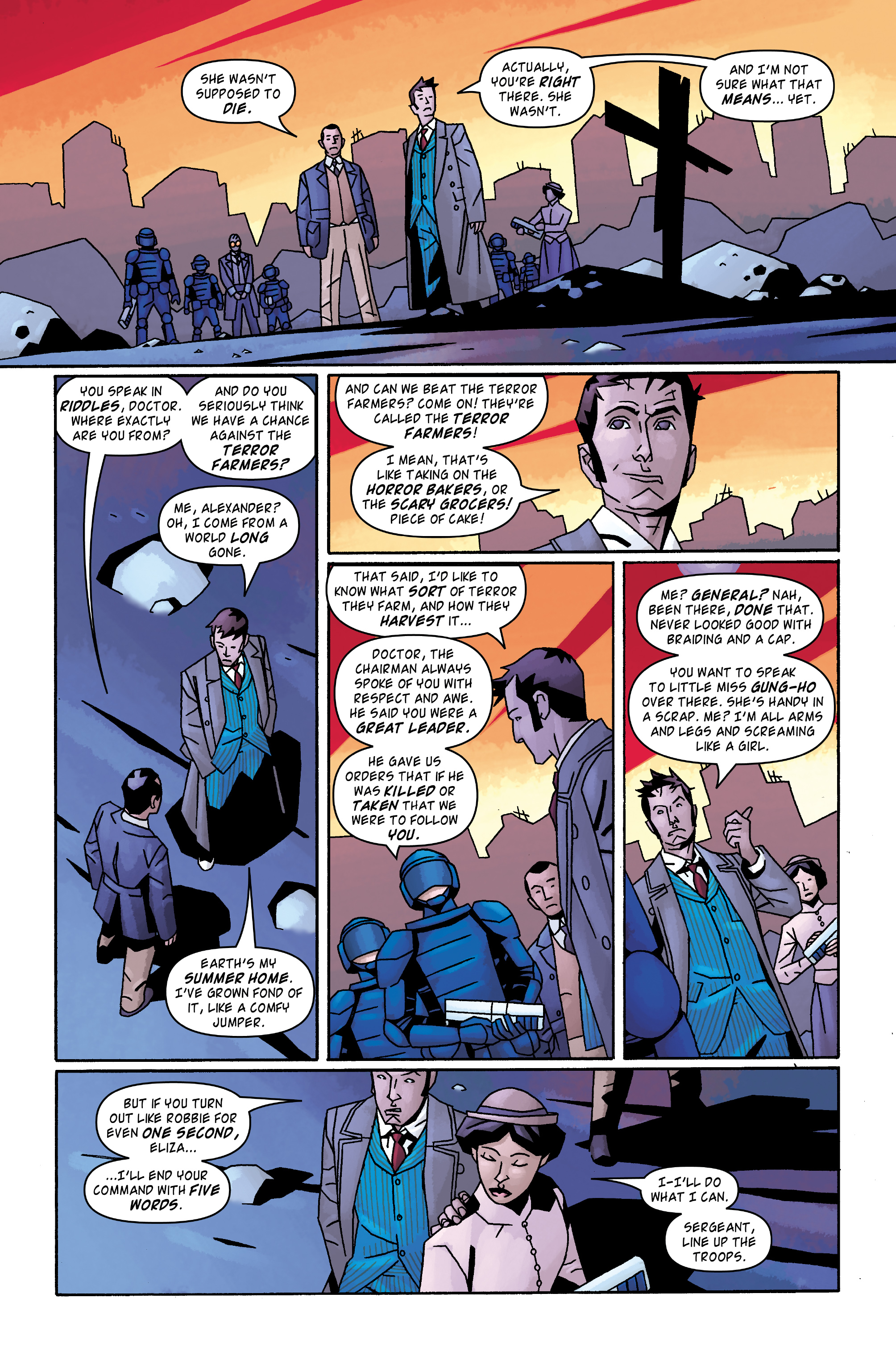 Read online Doctor Who: The Tenth Doctor Archives comic -  Issue #31 - 23