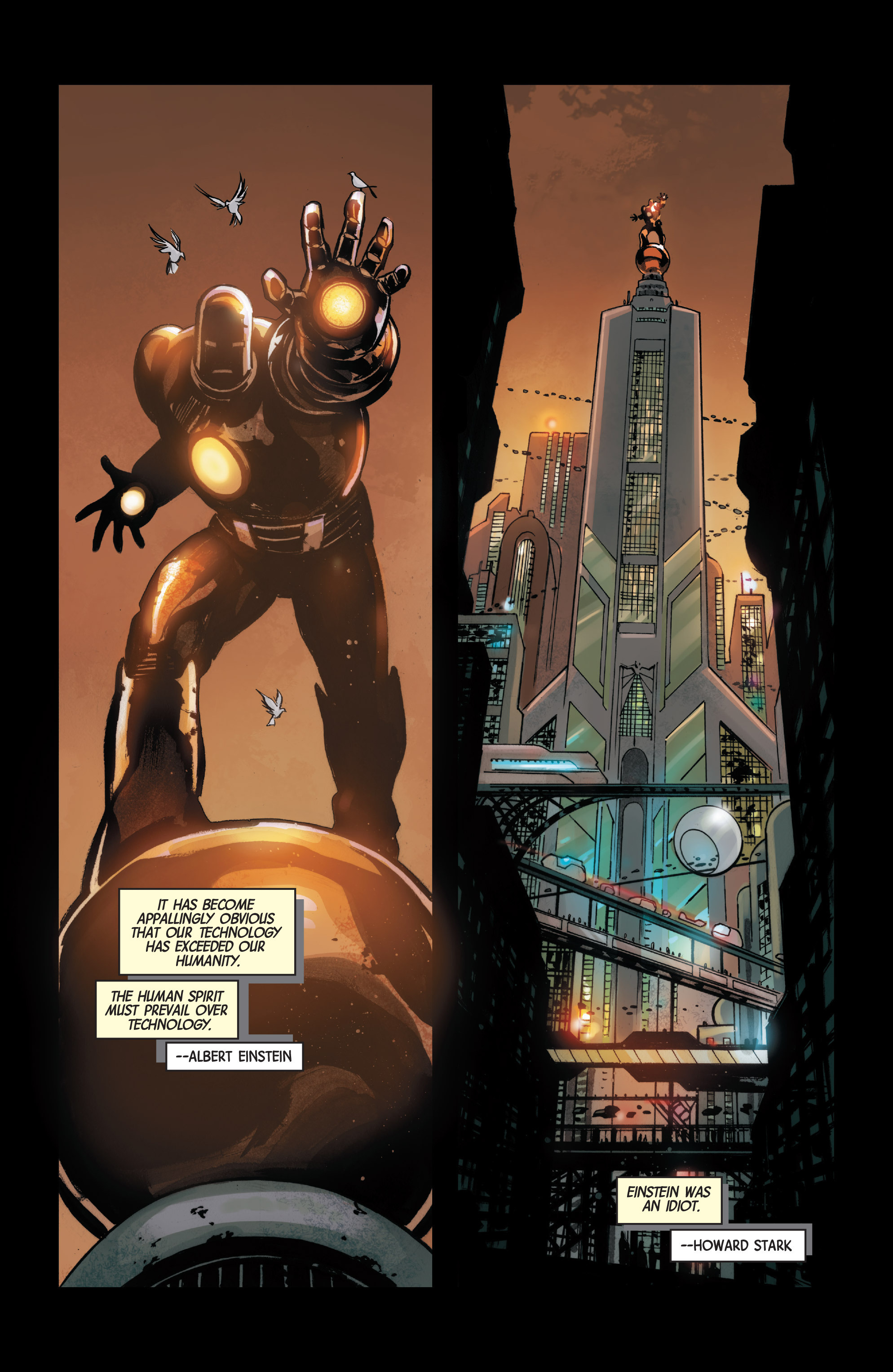 Read online Armor Wars comic -  Issue #1 - 3