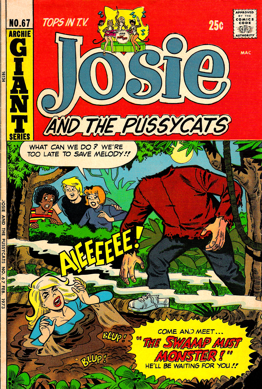 Read online She's Josie comic -  Issue #67 - 1