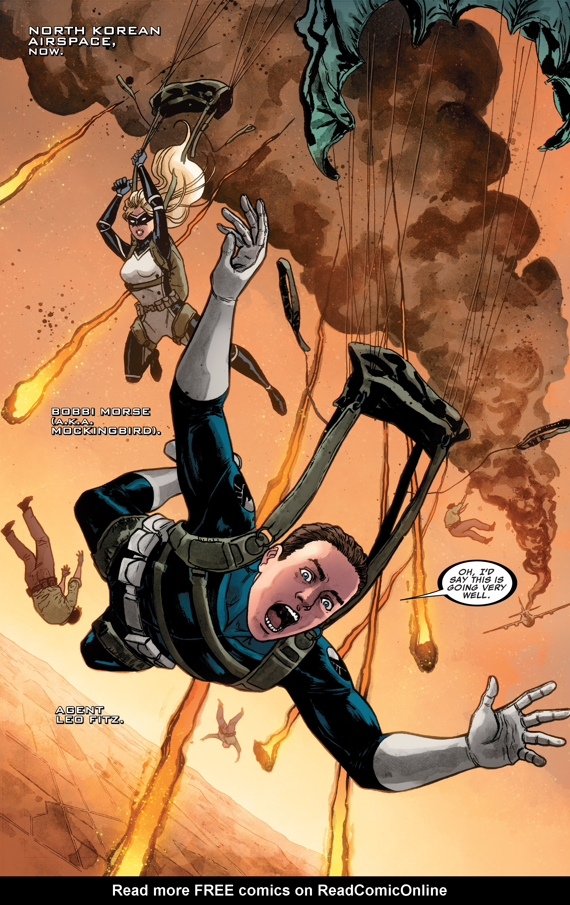 Read online Agents of S.H.I.E.L.D. comic -  Issue #3 - 2
