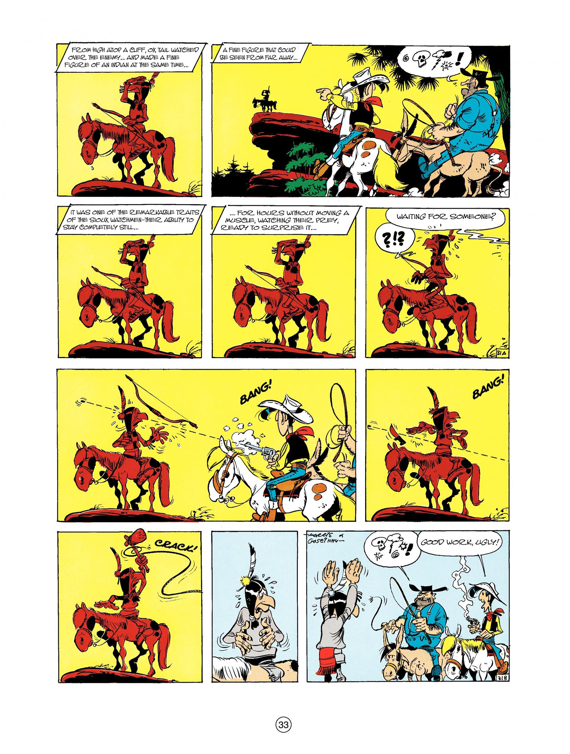 Read online A Lucky Luke Adventure comic -  Issue #9 - 33