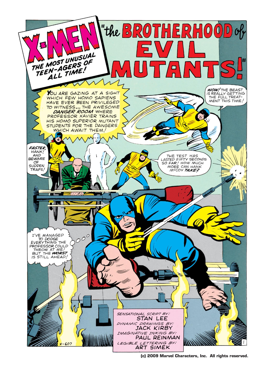 Read online Uncanny X-Men (1963) comic -  Issue #4 - 2