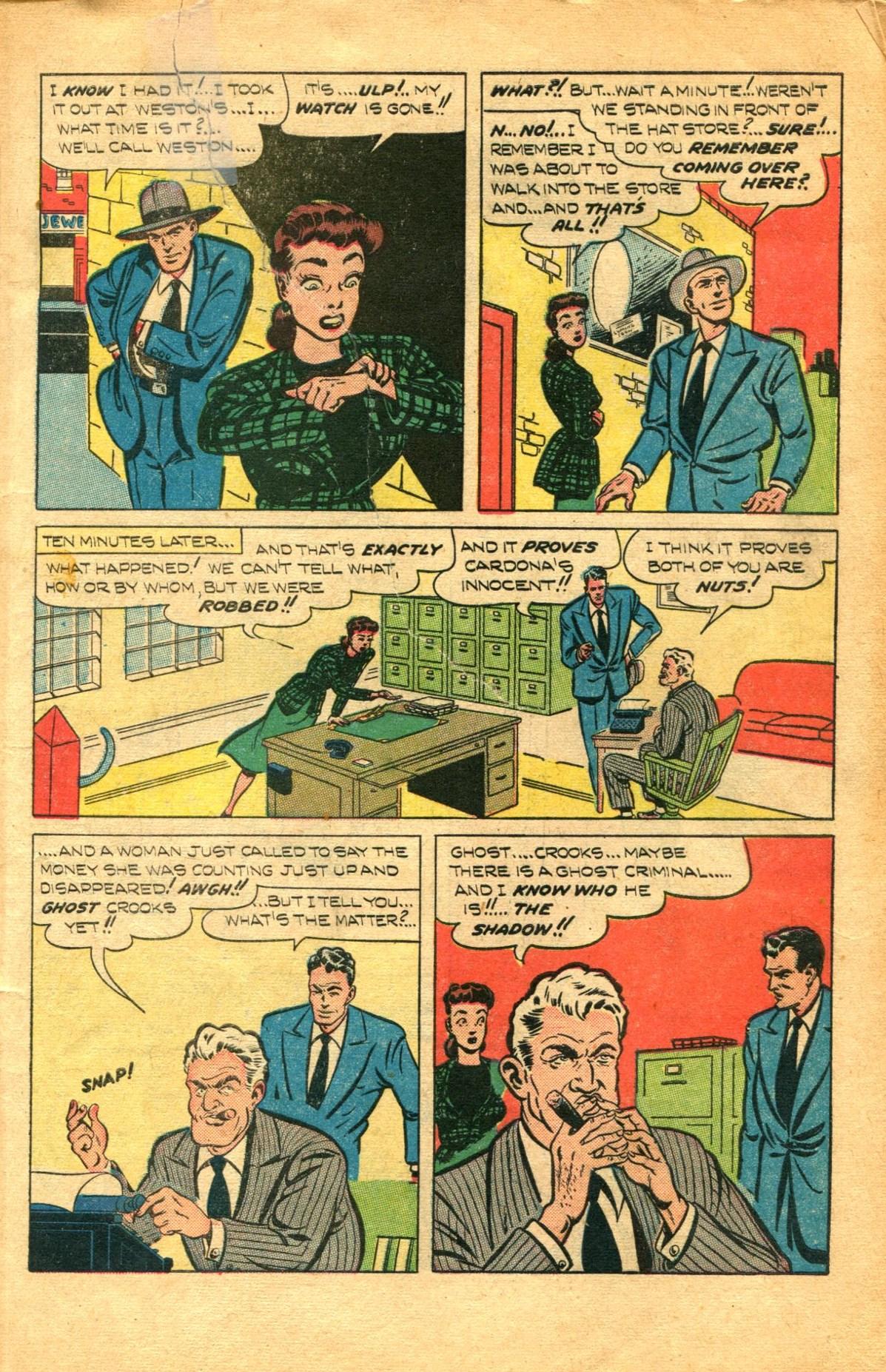 Read online Shadow Comics comic -  Issue #91 - 7