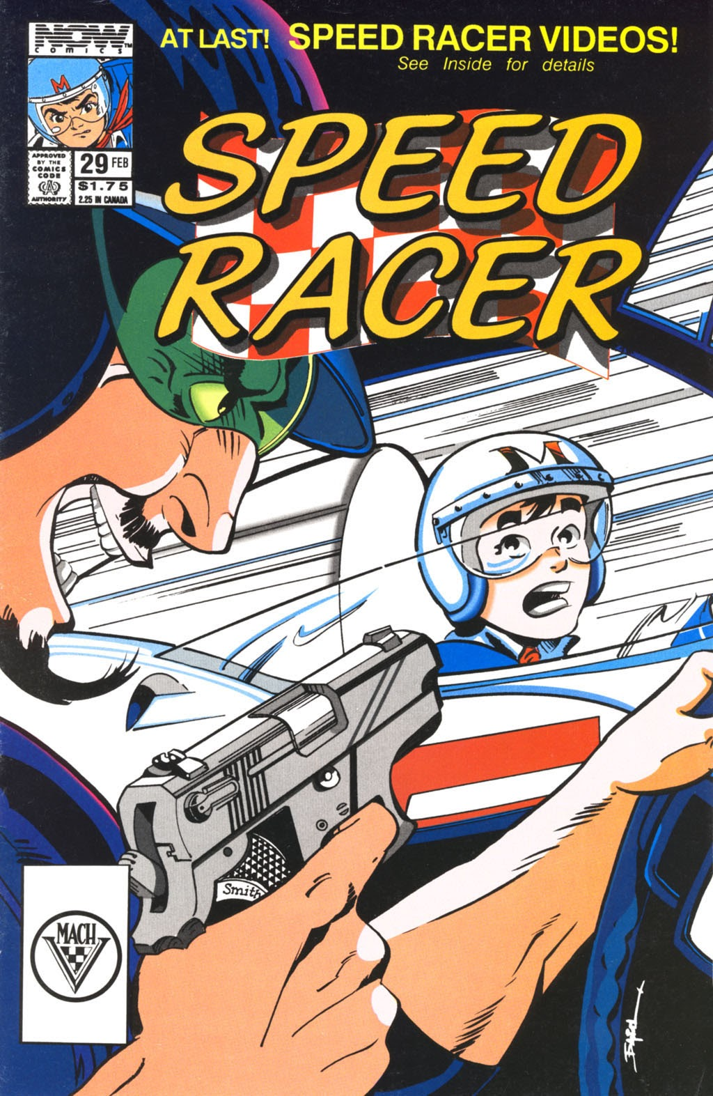 Speed Racer (1987) issue 29 - Page 1
