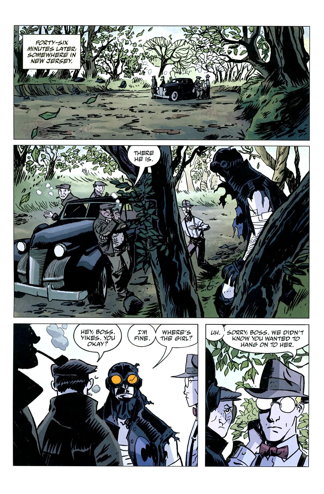 Read online Lobster Johnson: The Iron Prometheus comic -  Issue #5 - 23