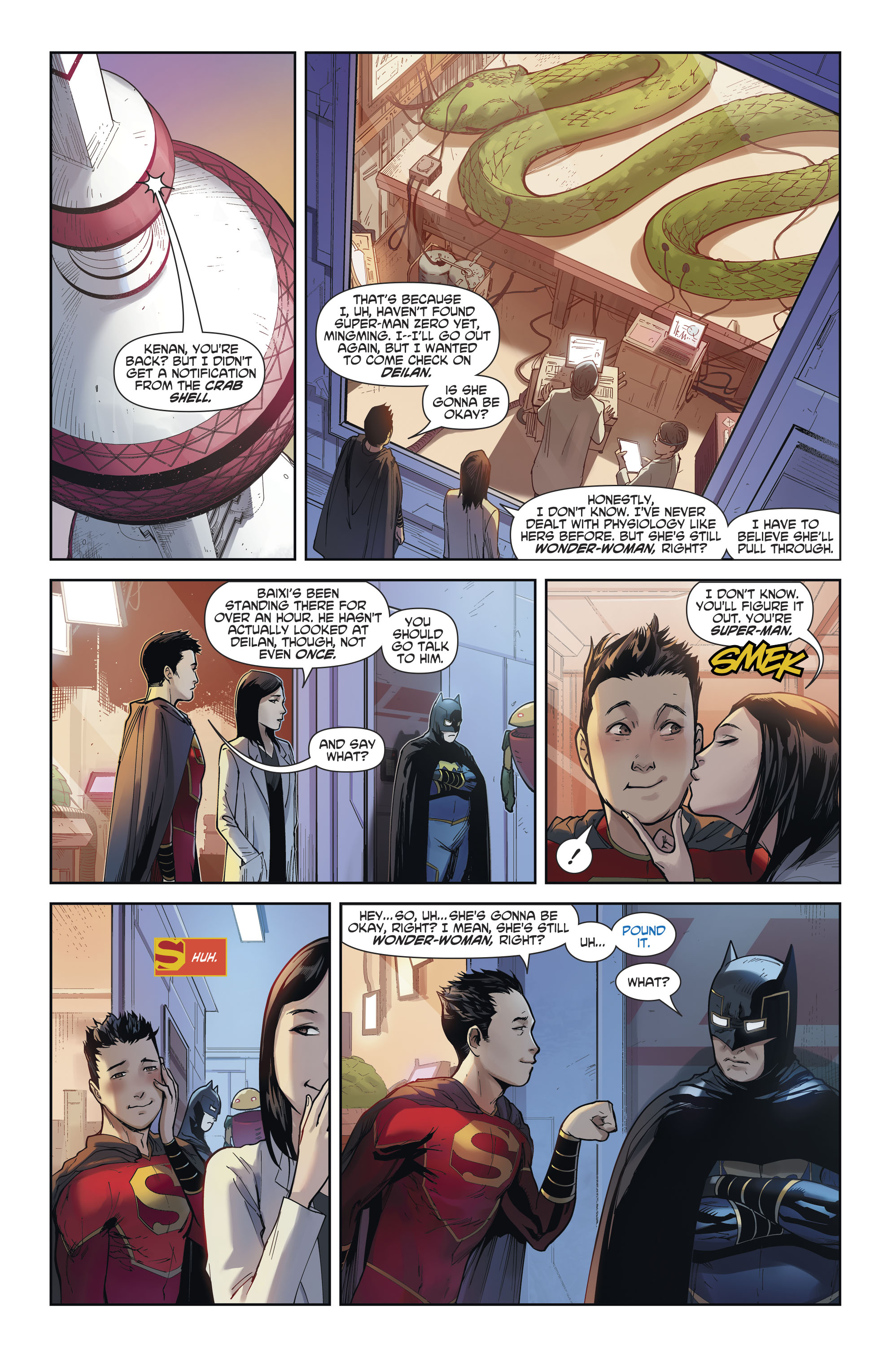 Read online New Super-Man comic -  Issue #12 - 16