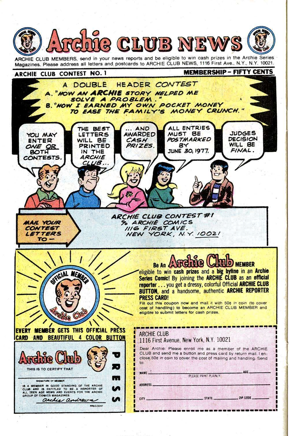 Read online Archie (1960) comic -  Issue #263 - 26
