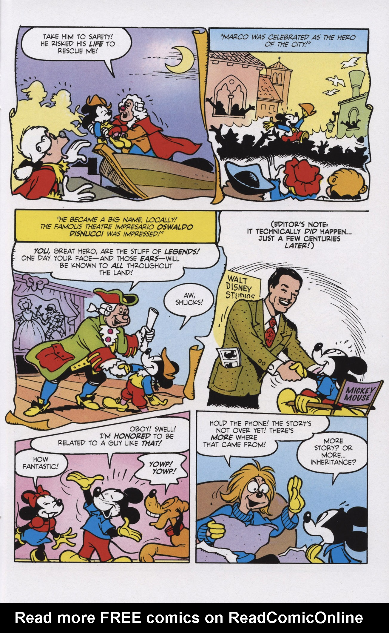 Read online Mickey Mouse (2011) comic -  Issue #309 - 19