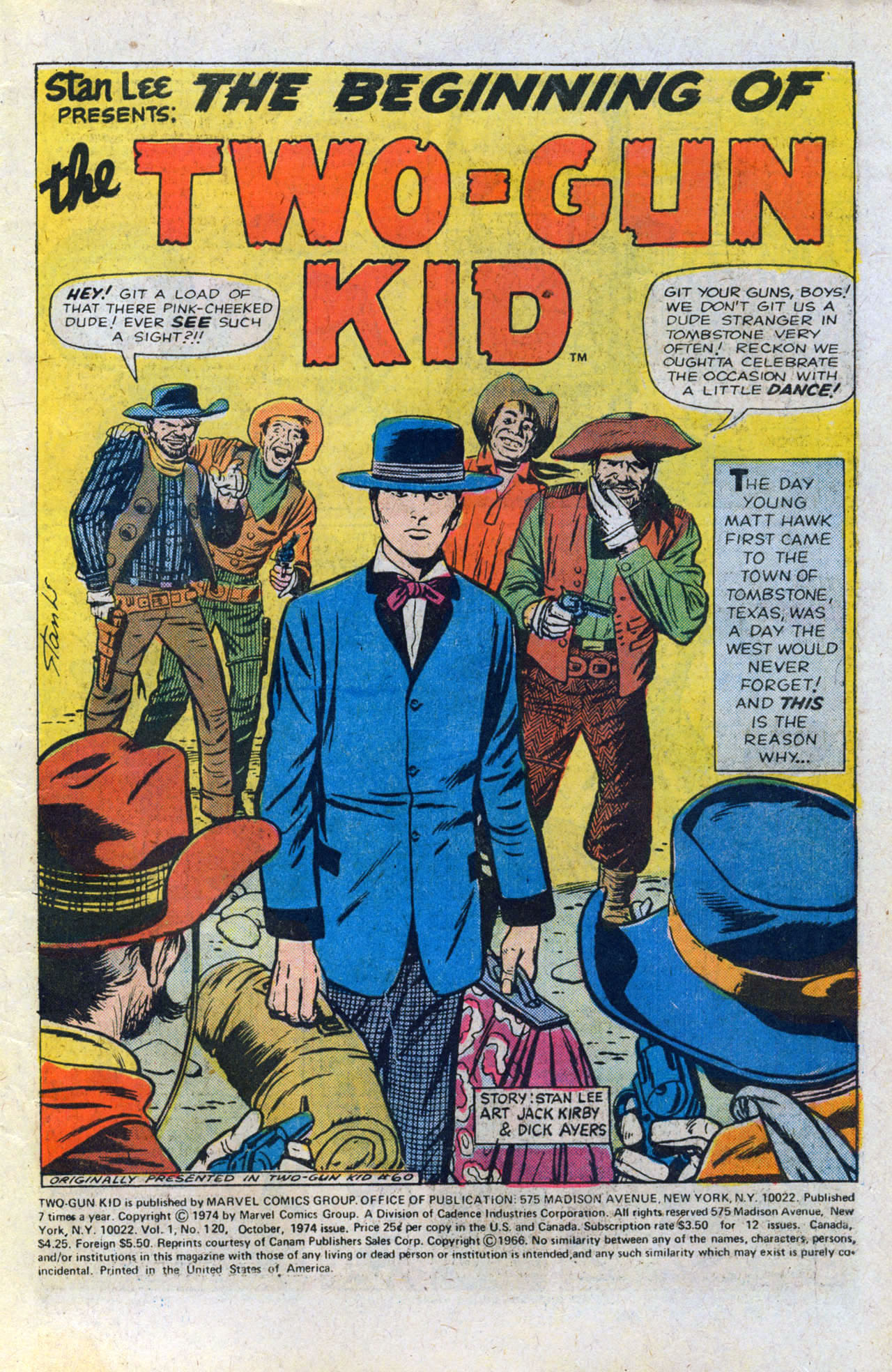 Read online Two-Gun Kid comic -  Issue #120 - 3