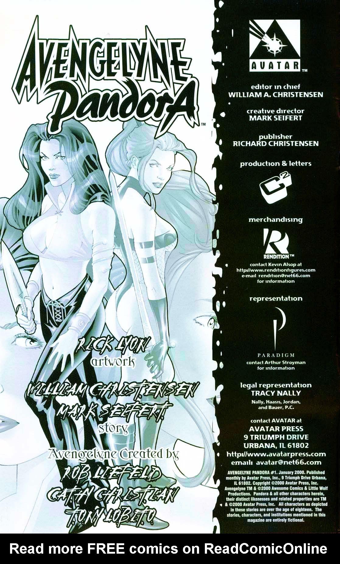 Avengelyne / Pandora 1 Page 2