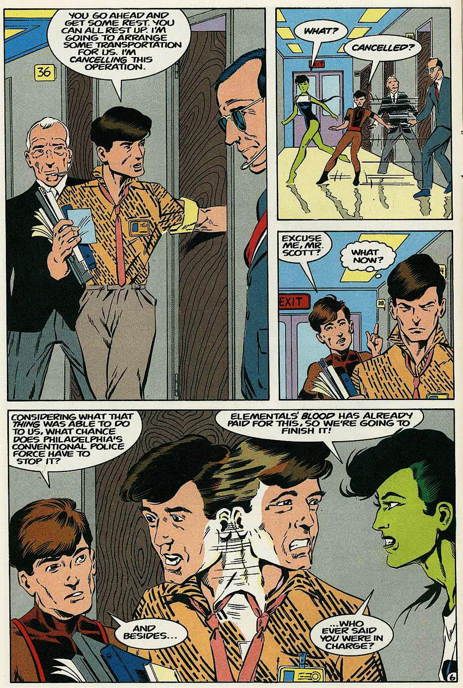 Elementals (1984) issue 17 - Page 8