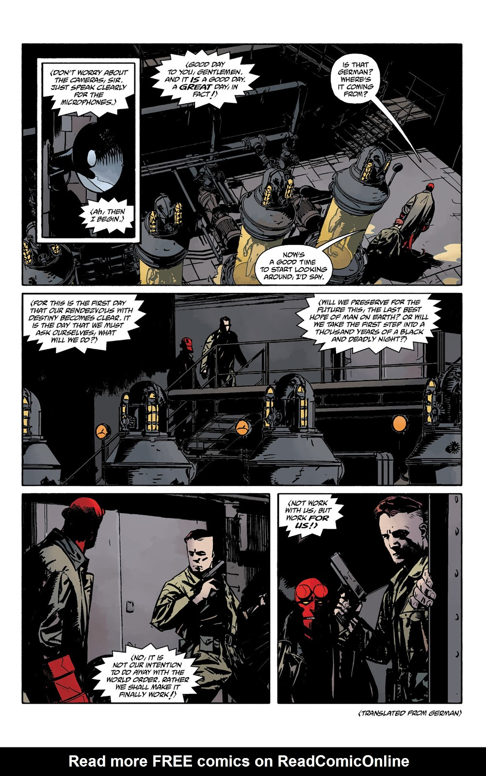 Read online Hellboy and the B.P.R.D. comic -  Issue # _TPB - 94