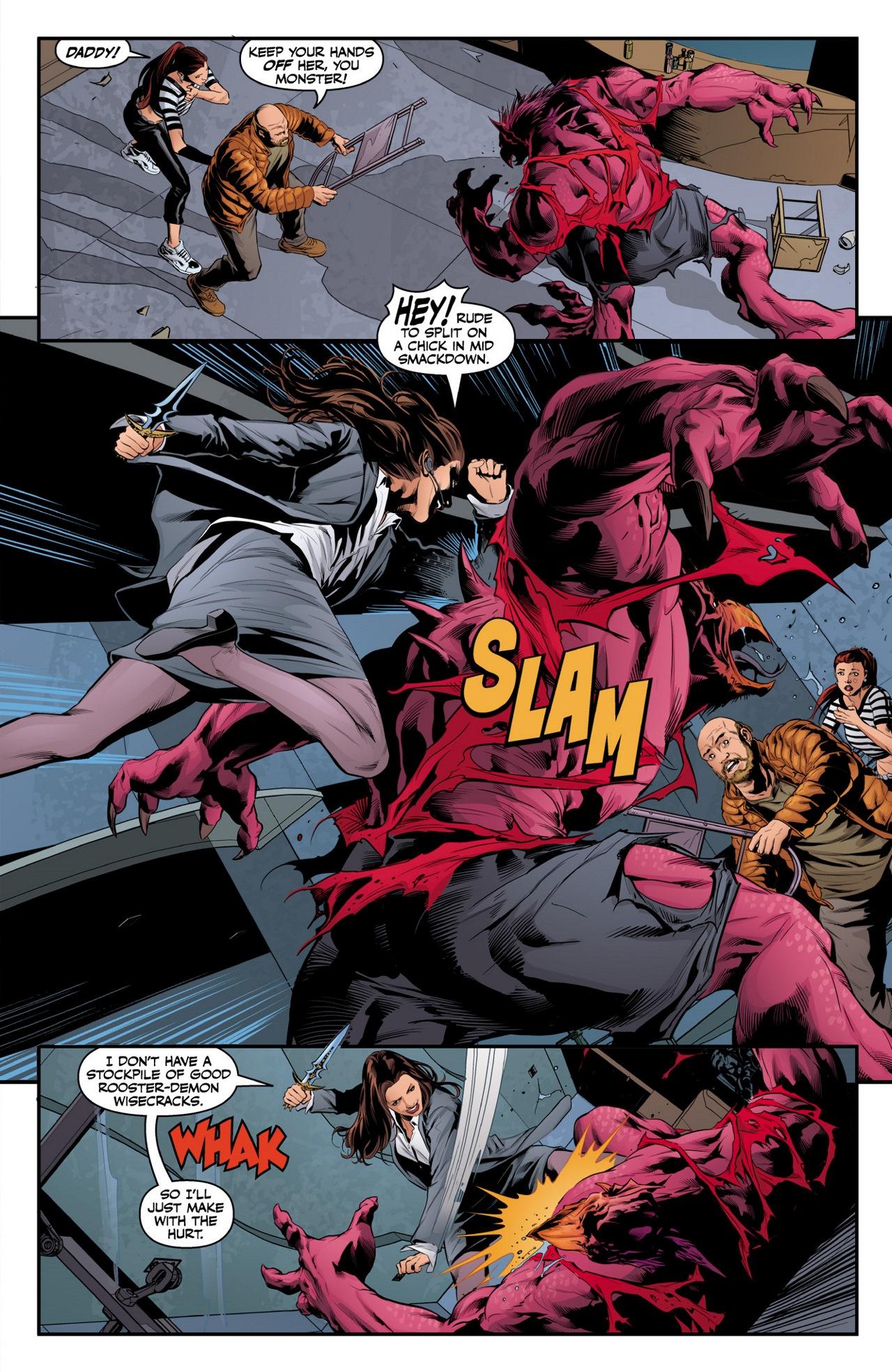 Read online Angel & Faith Season 10 comic -  Issue #3 - 5