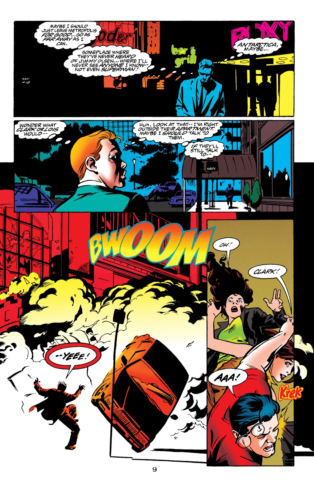 Adventures of Superman (1987) issue 549 - Page 9