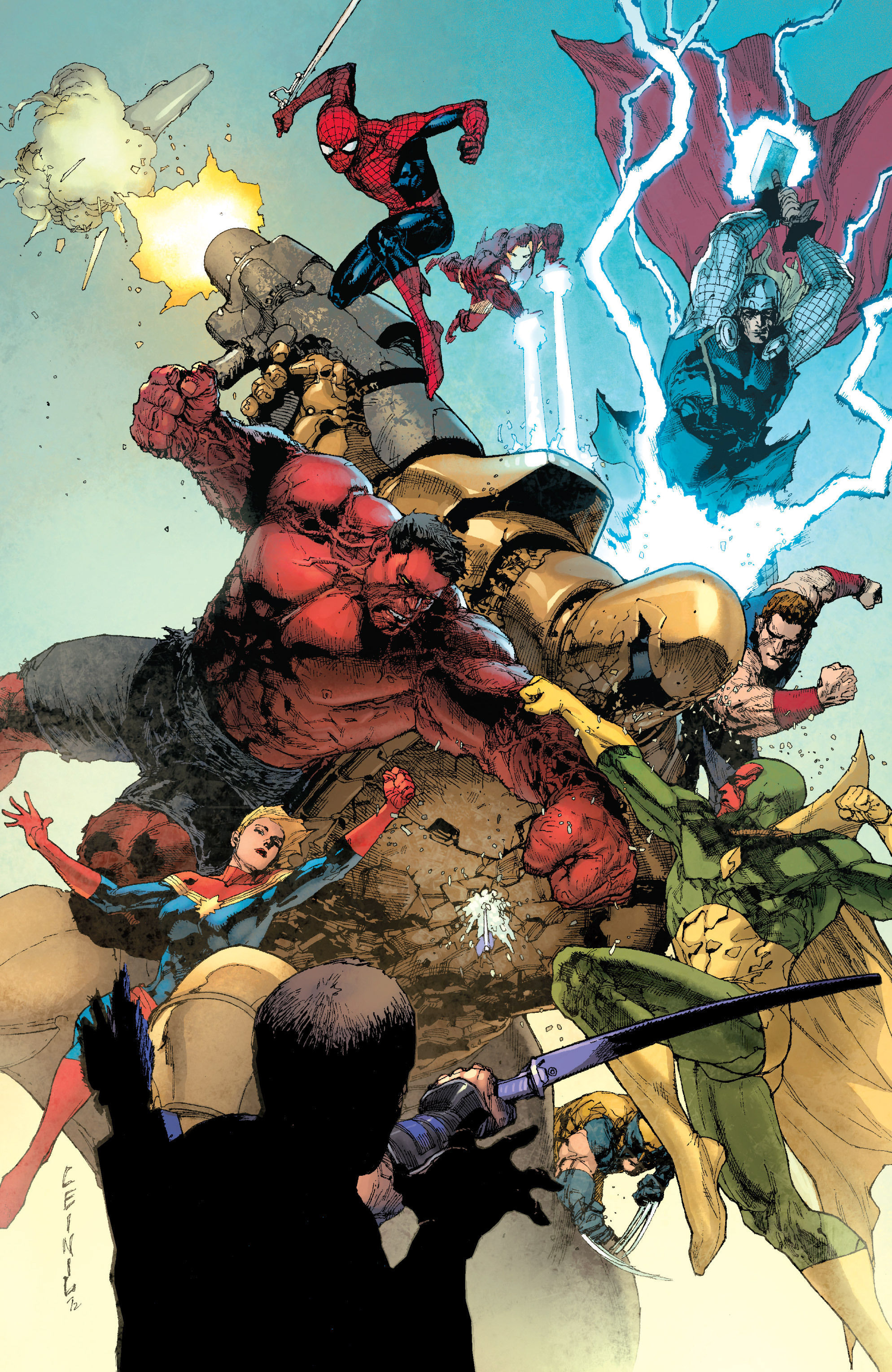 Read online Avengers (2010) comic -  Issue #34 - 25