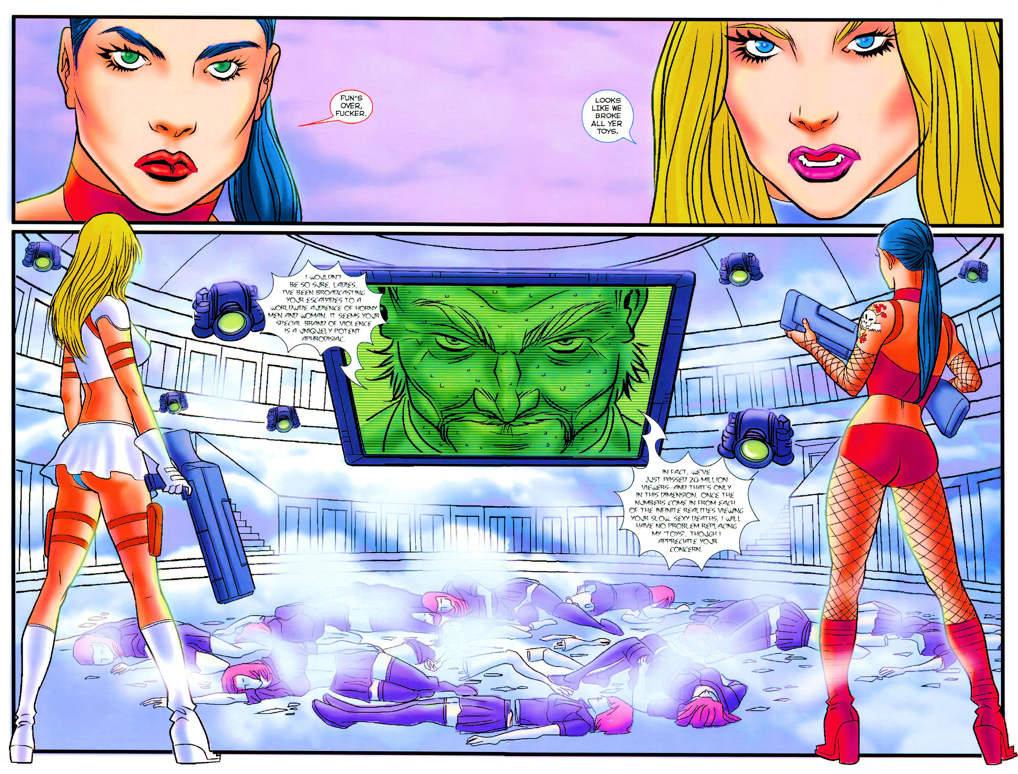 Read online Notti & Nyce comic -  Issue #3 - 4