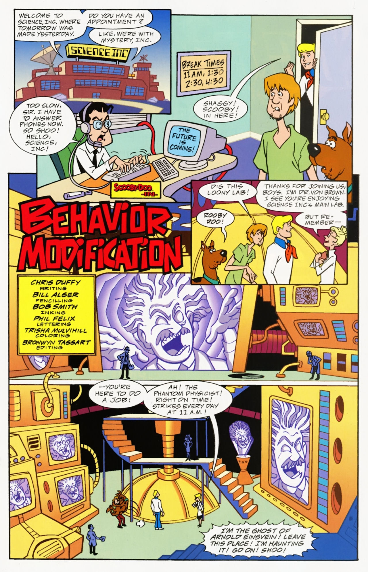 Read online Scooby-Doo: Where Are You? comic -  Issue #6 - 19