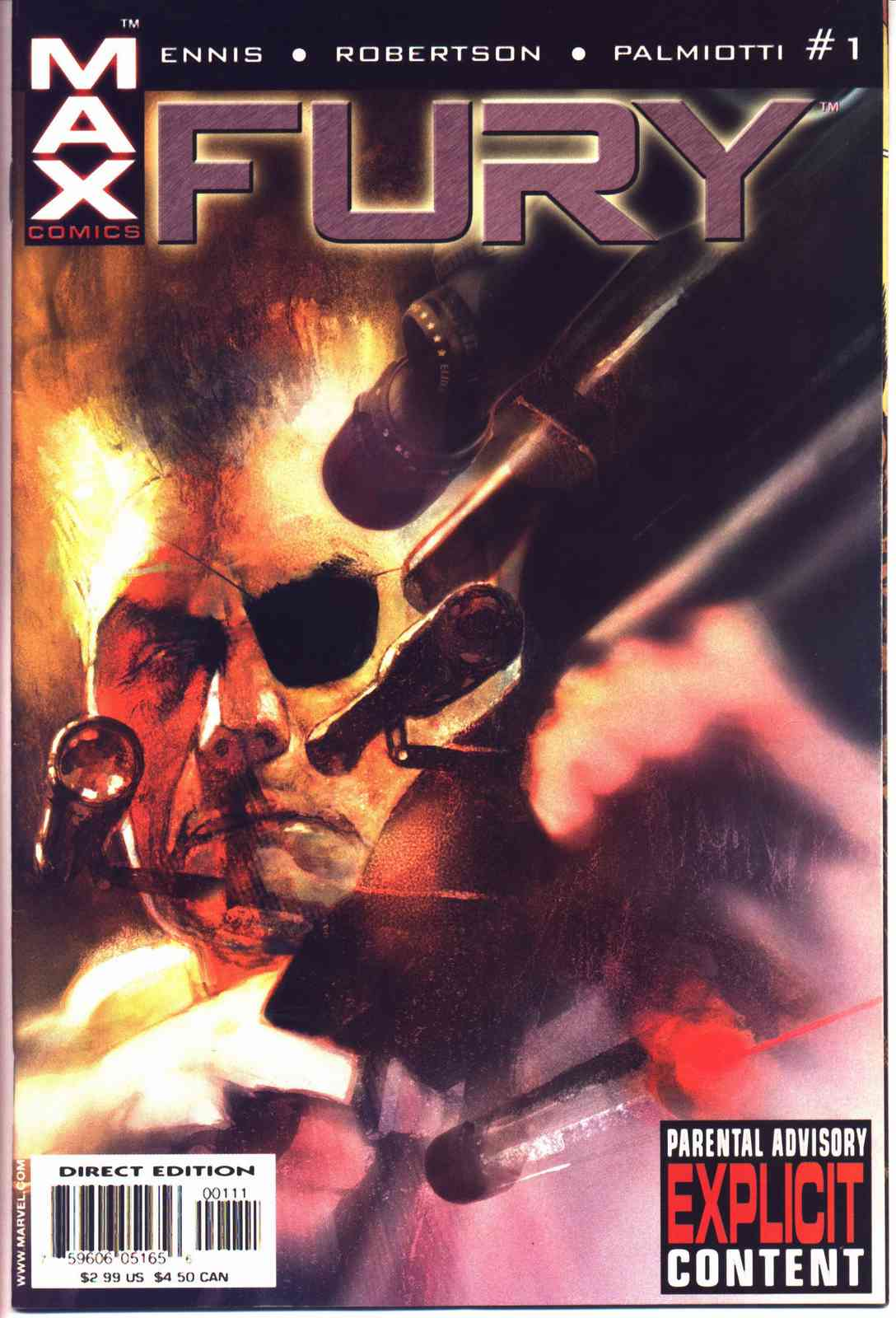 Read online Fury comic -  Issue #1 - 1