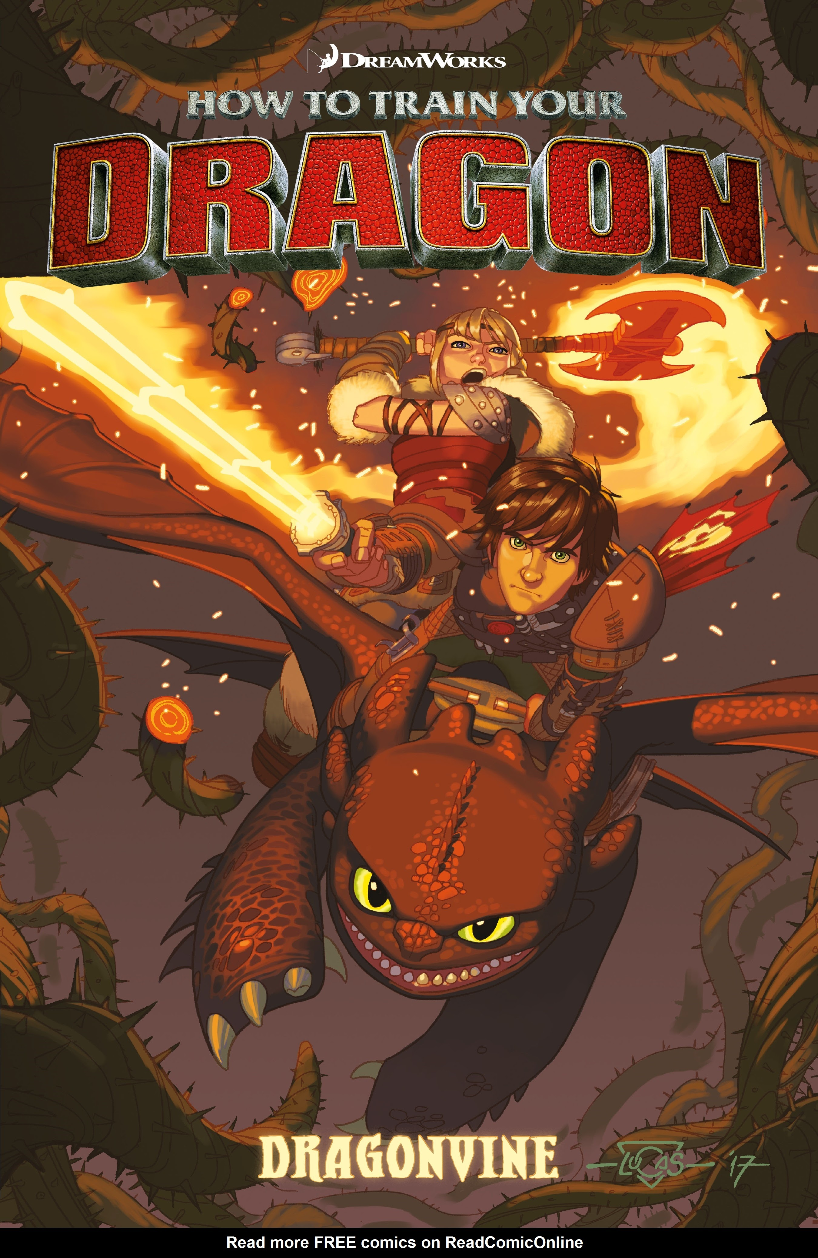 How to Train Your Dragon: Dragonvine issue TPB - Page 1