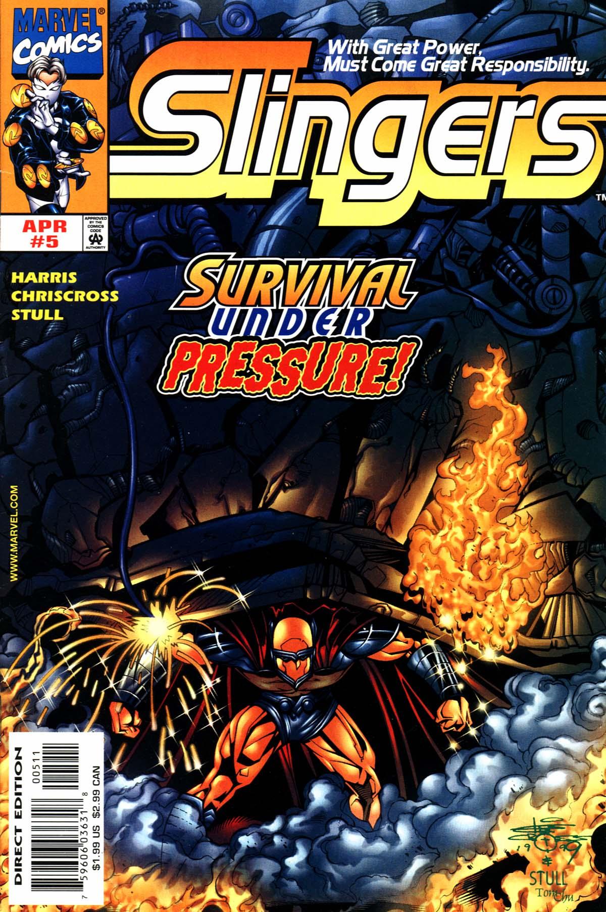 Read online Slingers comic -  Issue #5 - 1