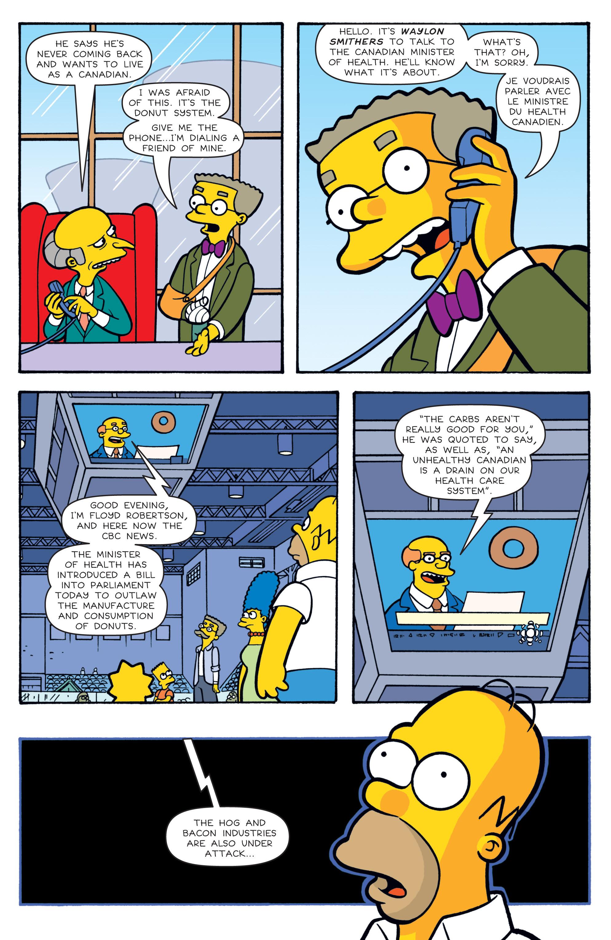 Read online Simpsons Comics comic -  Issue #180 - 21
