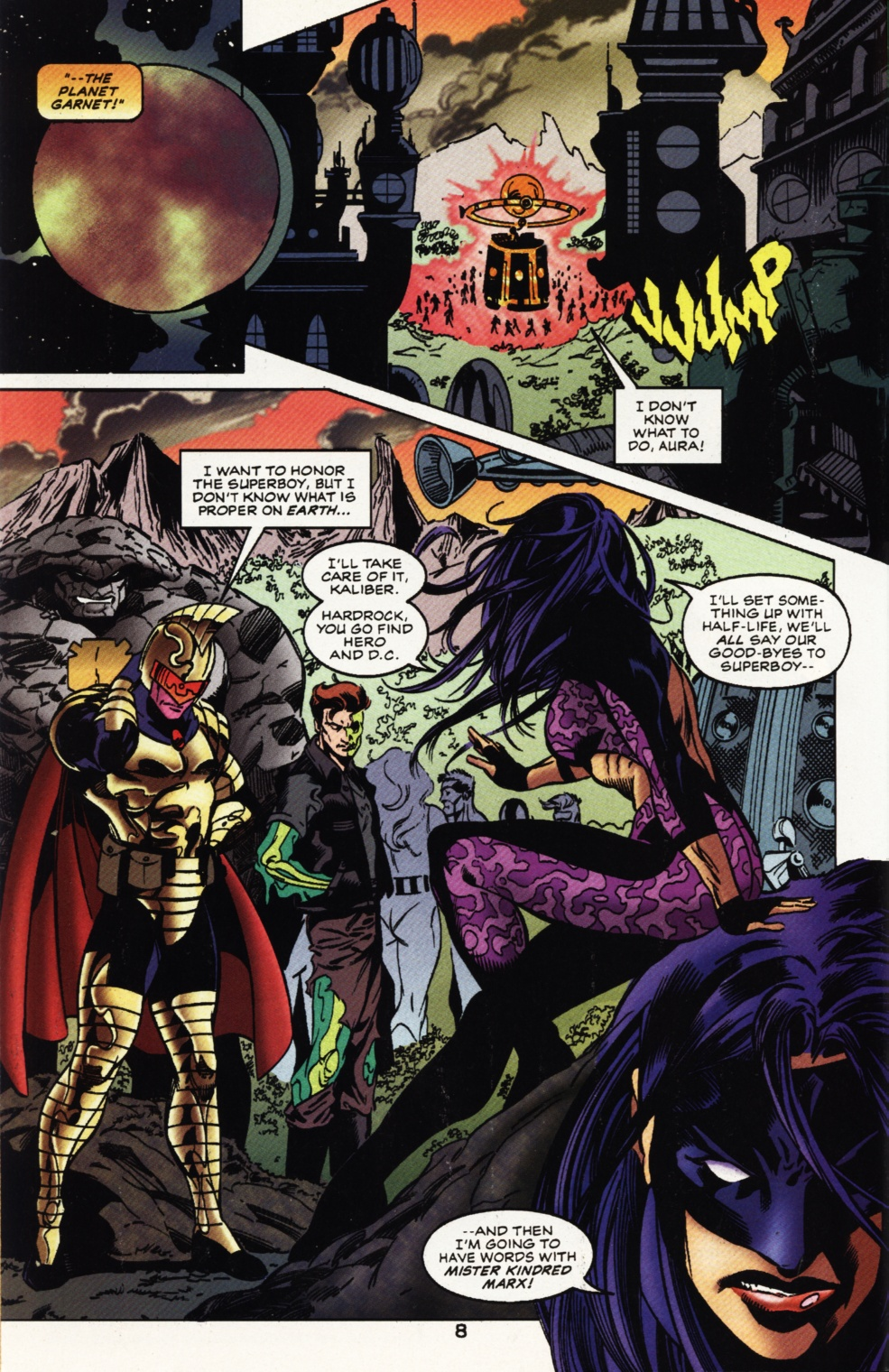 Read online Superboy & The Ravers comic -  Issue #11 - 9