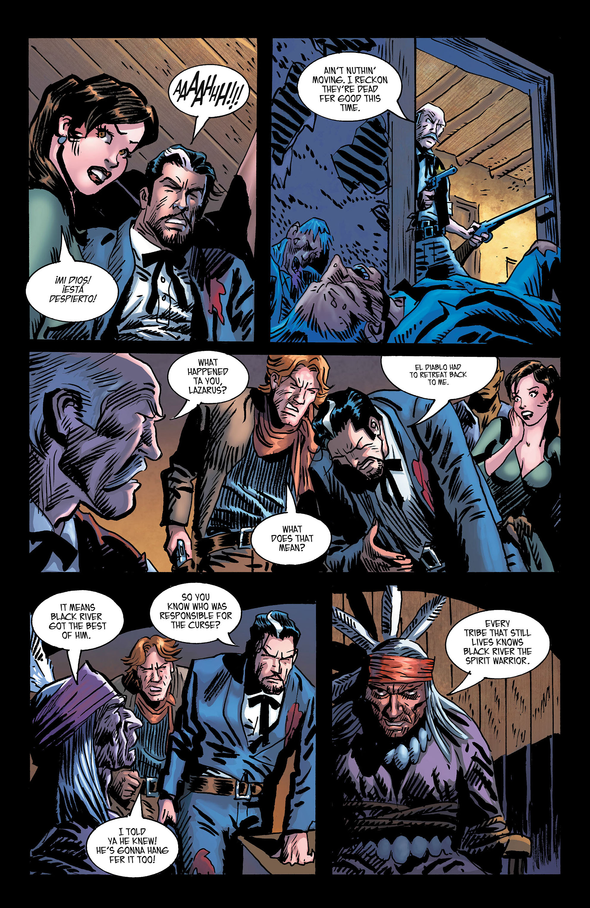 Read online All-Star Western (2011) comic -  Issue #3 - 24