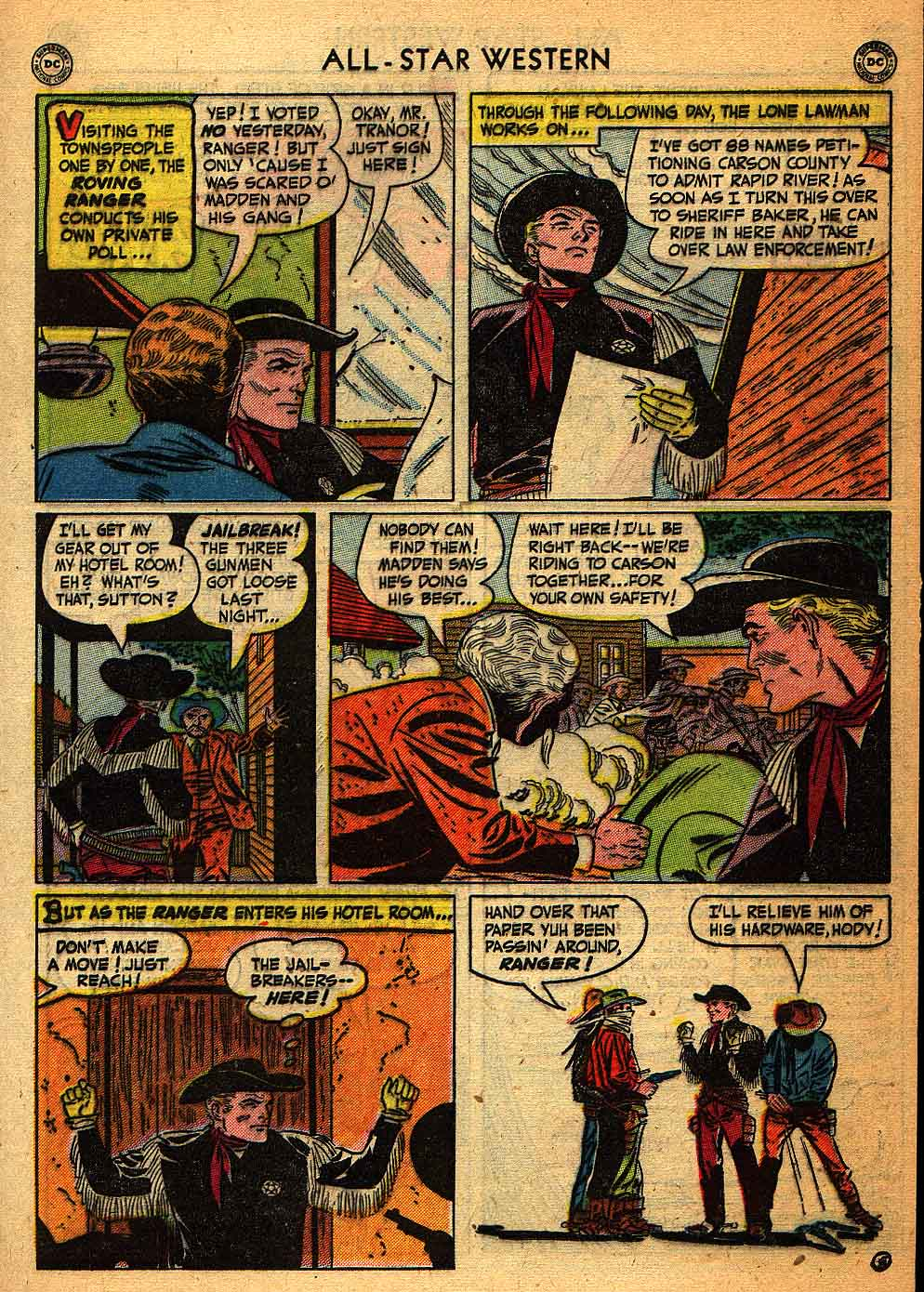Read online All-Star Western (1951) comic -  Issue #58 - 29