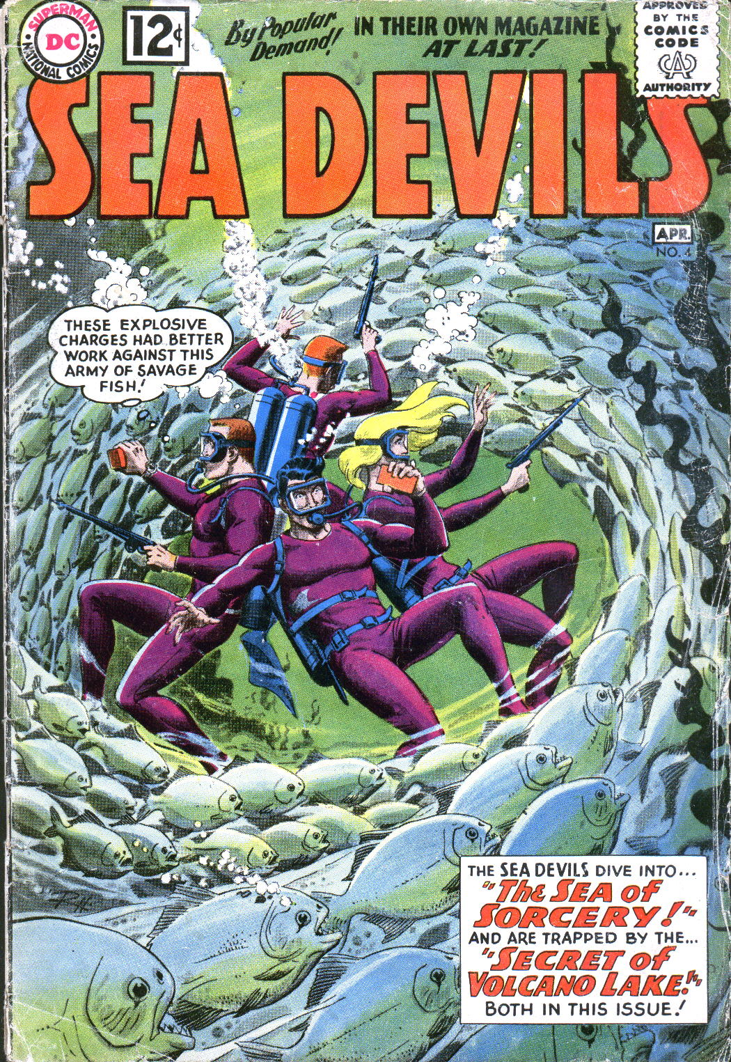 Read online Sea Devils comic -  Issue #4 - 2