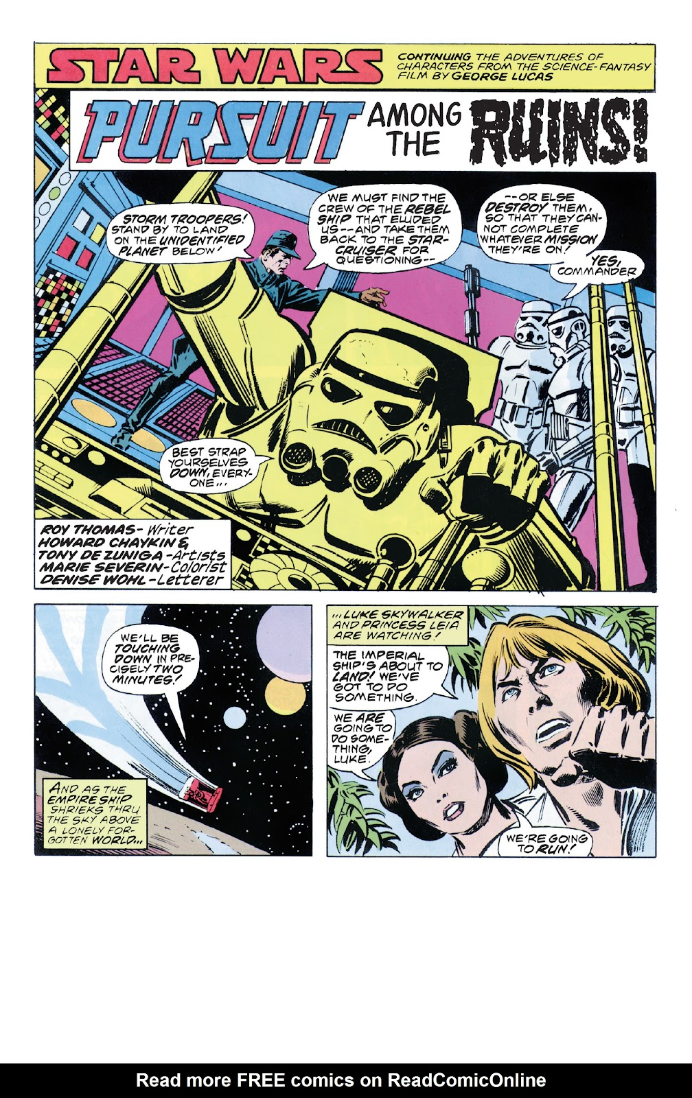 Read online Star Wars Legends: The Original Marvel Years - Epic Collection comic -  Issue # TPB 1 (Part 5) - 34